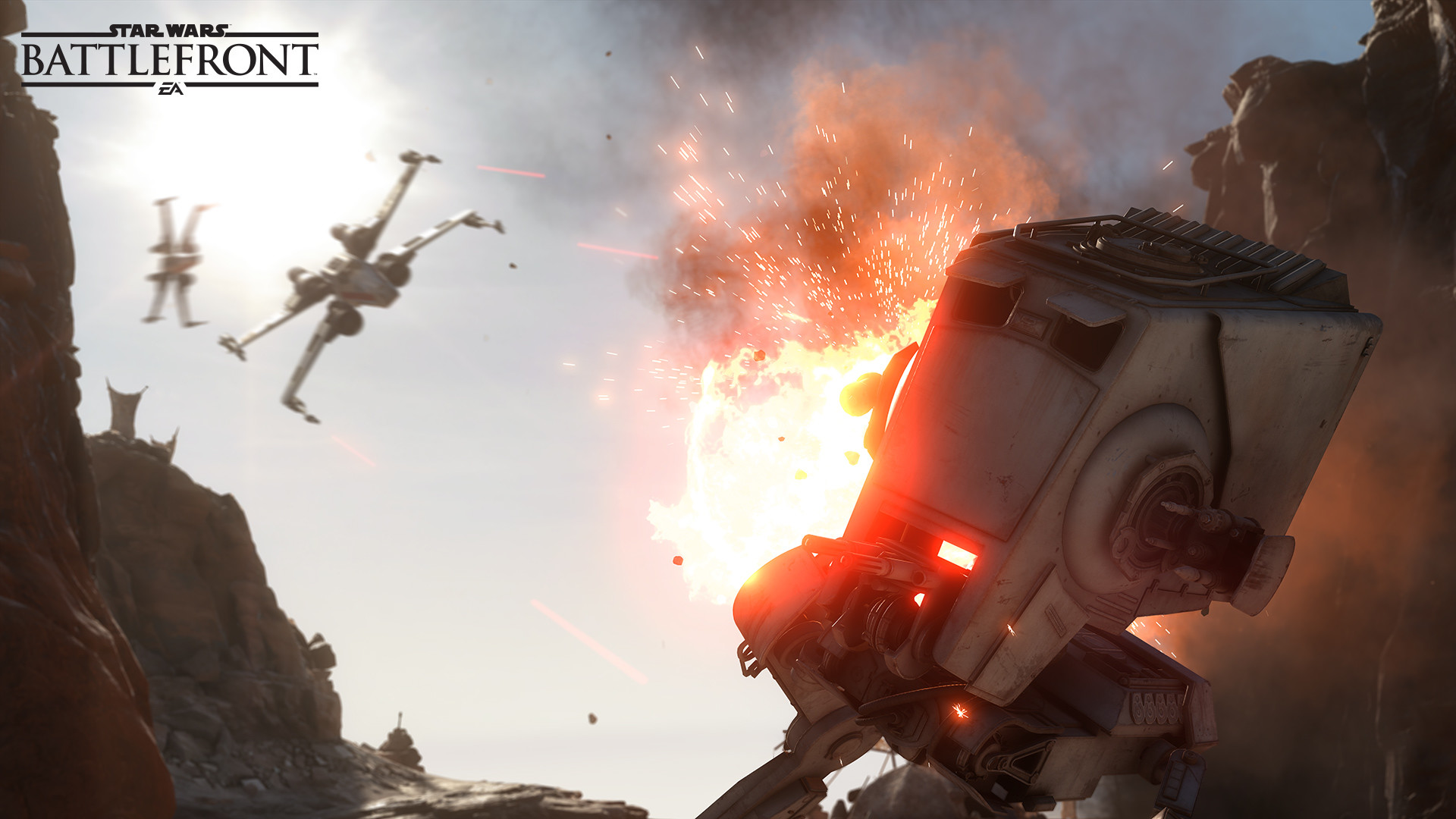 Star Wars Battlefront Prioritizes Frame Rate Over Resolution – GameSpot