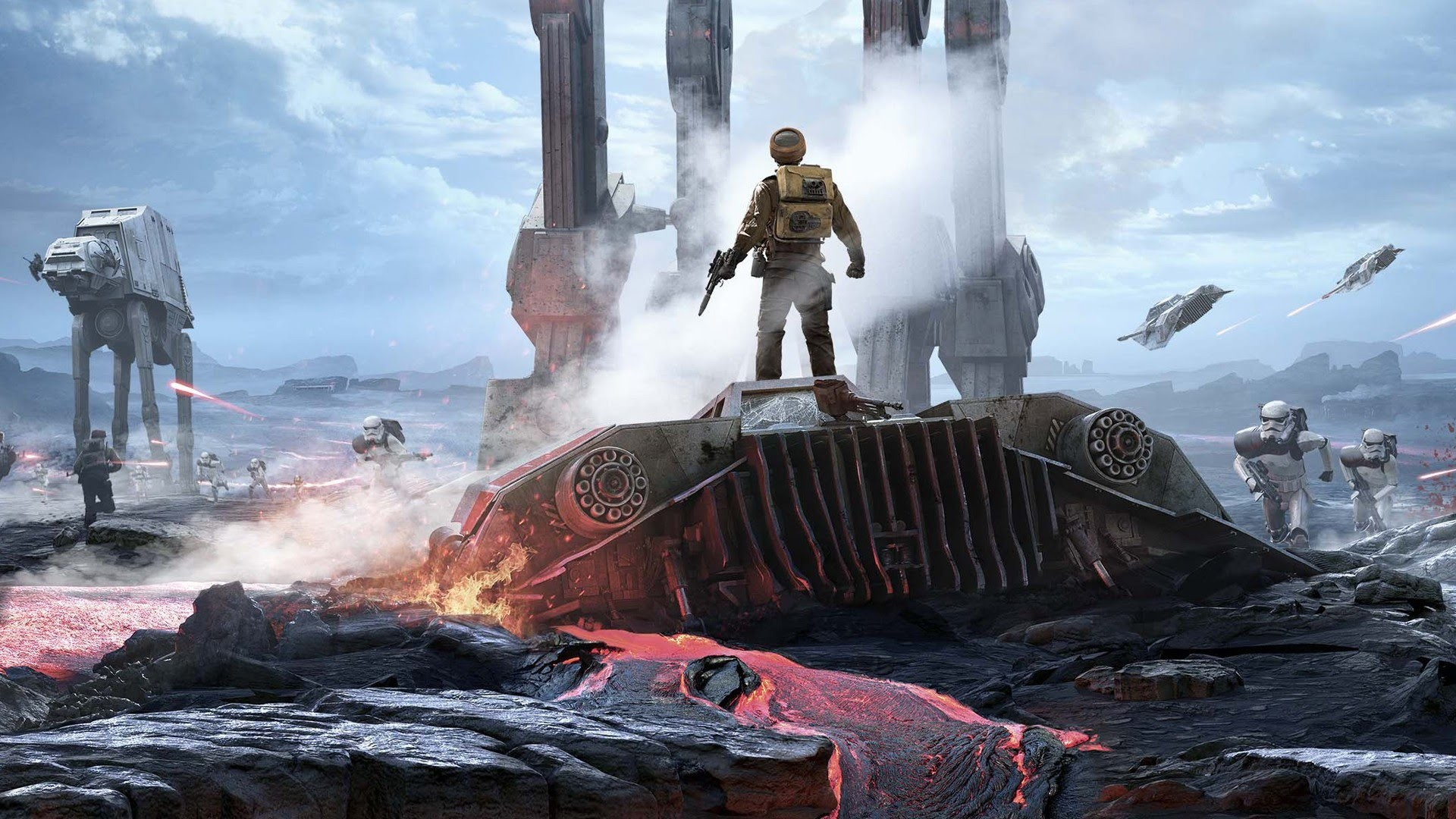 Star Wars Battlefront Gameplay   PC 1440p 60FPS MAX SETTINGS! – YouTube