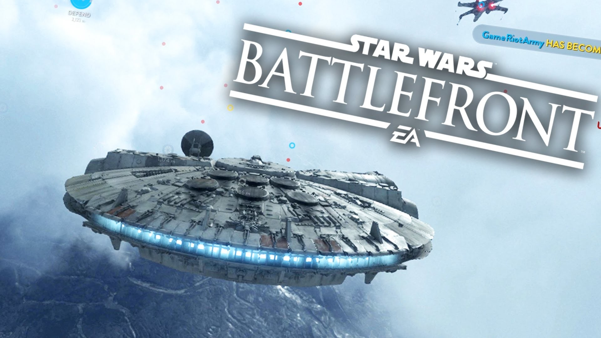 MILLENNIUM FALCON – Star Wars Battlefront Gameplay – Fight Squadron #3 –  YouTube