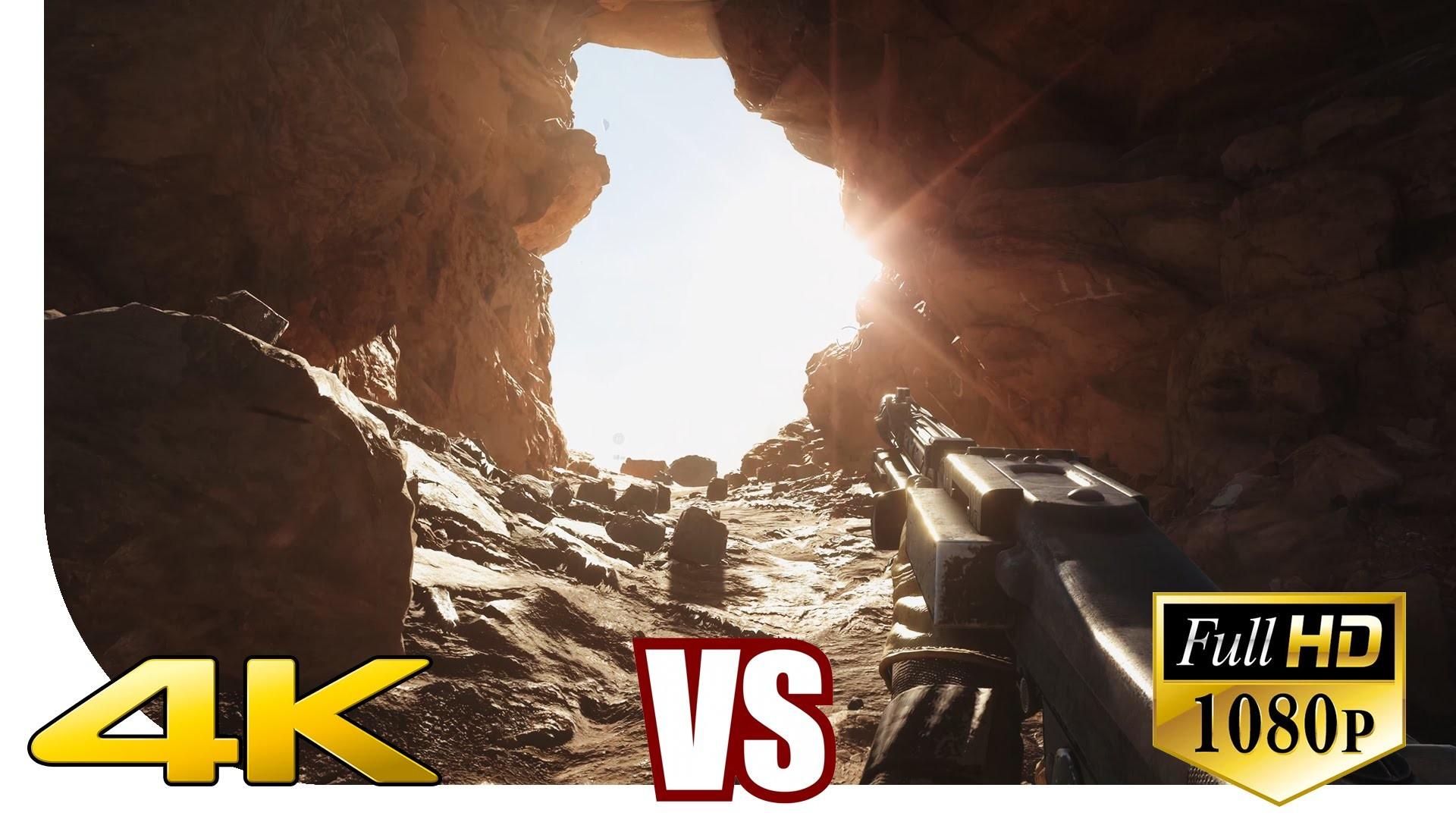 Star Wars: Battlefront – ! 4K vs. 1080p ! – Resolution Comparison – MRGV    [UHD] [Ultra HD] [2160p] – YouTube