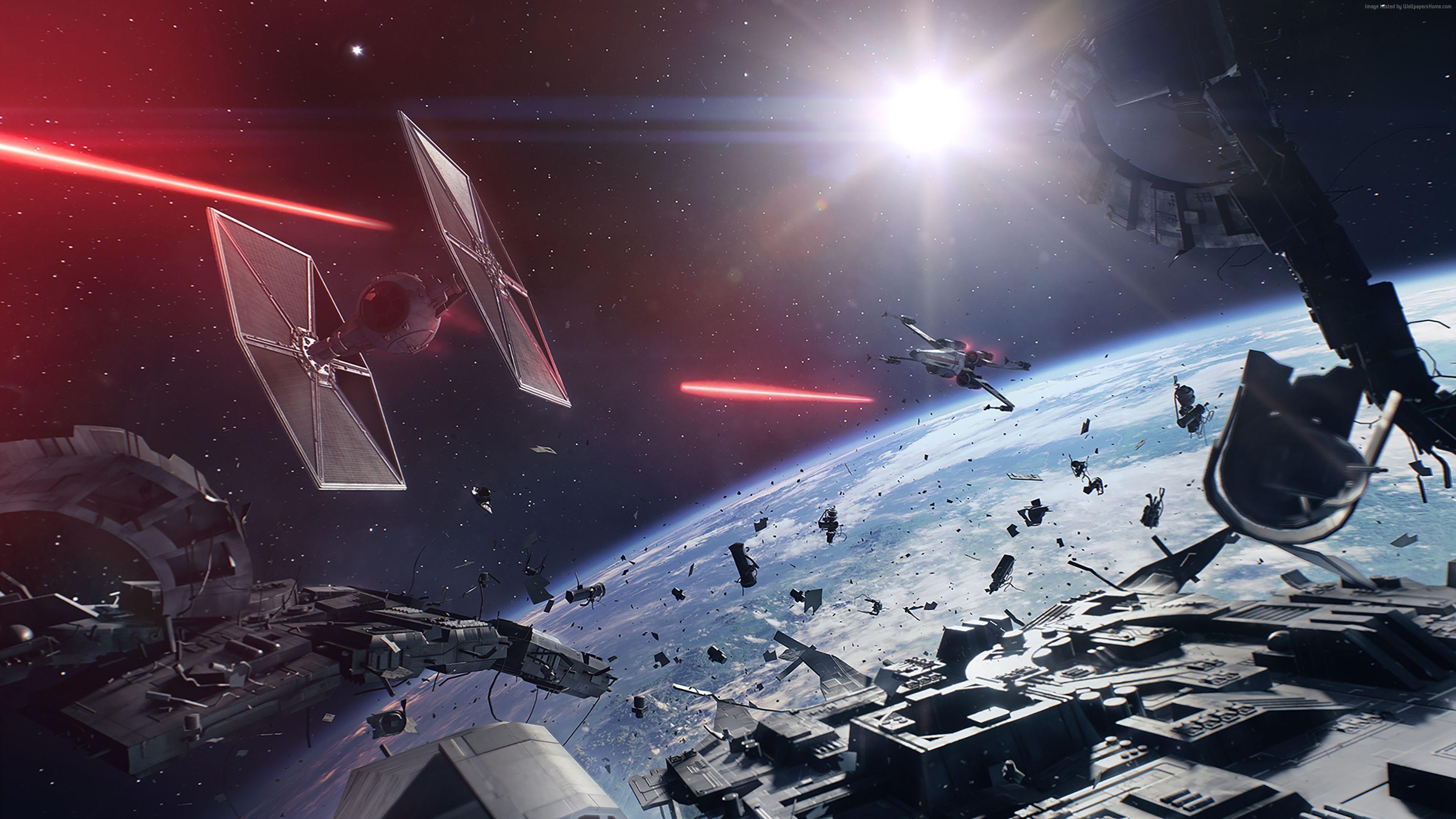 Star Wars Battlefront II 4K Wallpaper