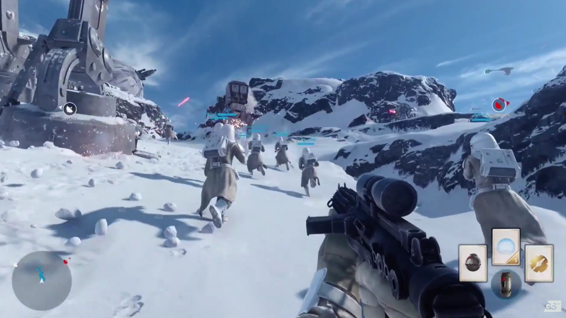 Star Wars Battlefront In Game for 1920 x 1080 HDTV 1080p resolution