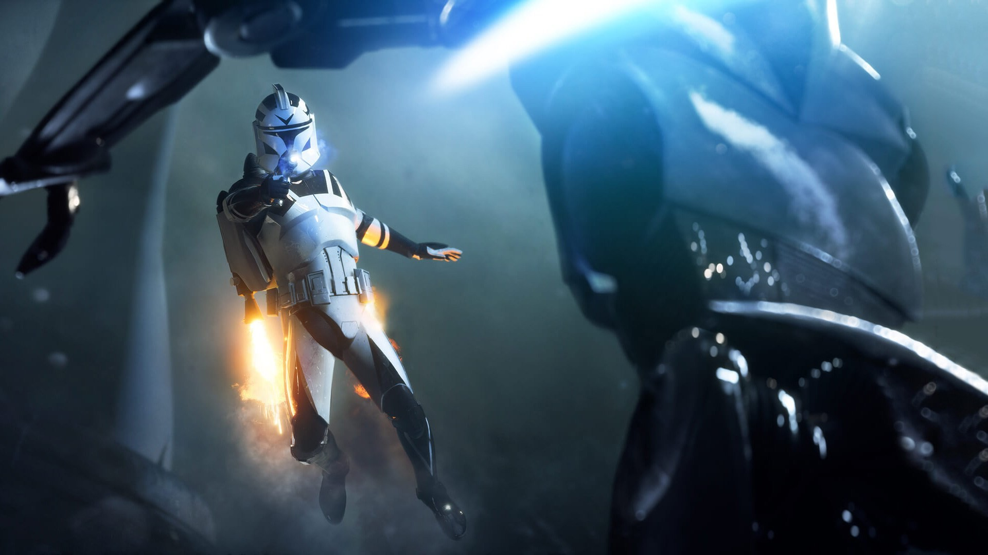 Select the image above to view the wallpaper full screen. 2. Press the  PlayStation 4 screen capture button on the controller. Star Wars Battlefront  2