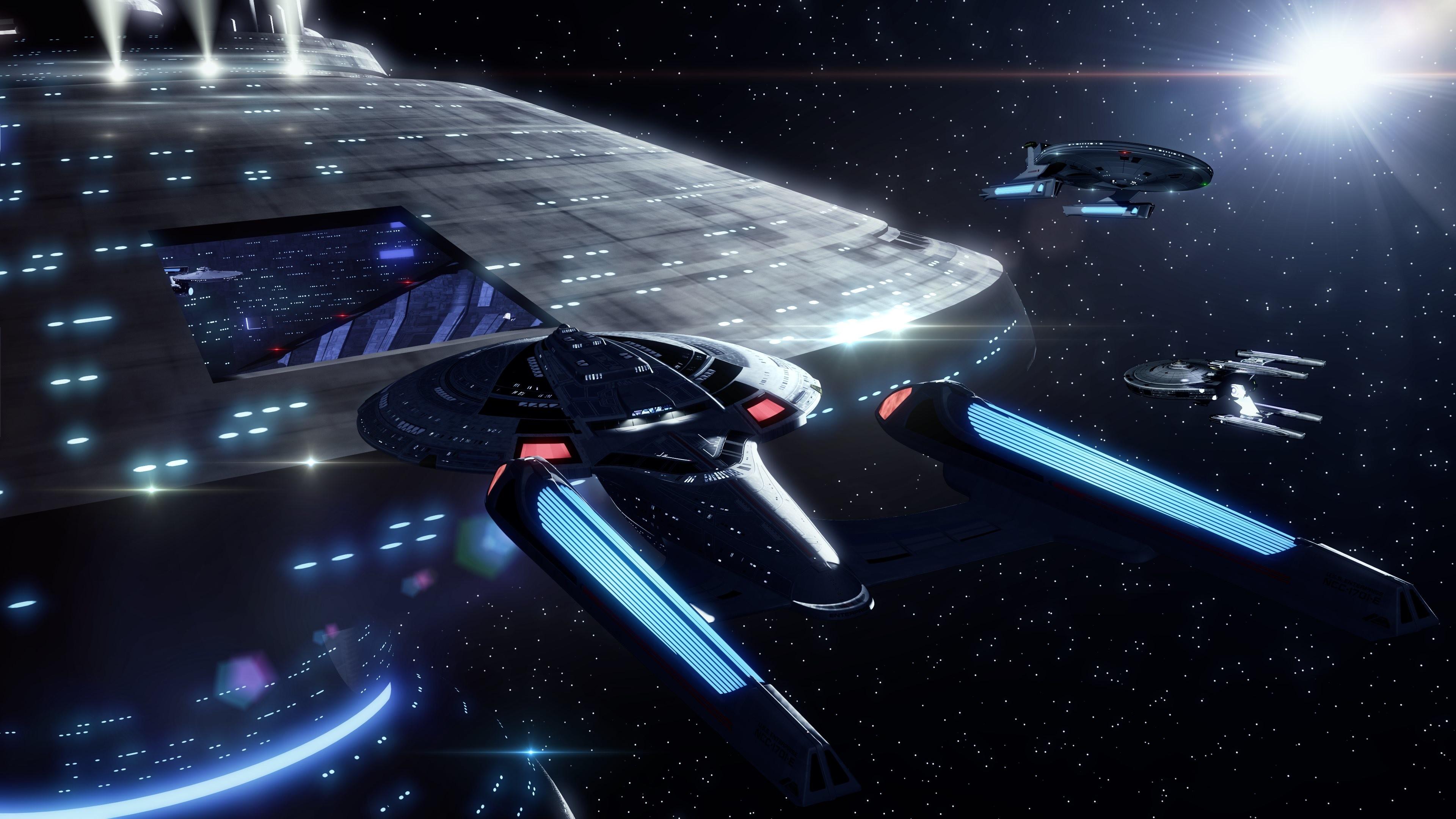 4K HD Wallpaper: Sovereign – Starbase