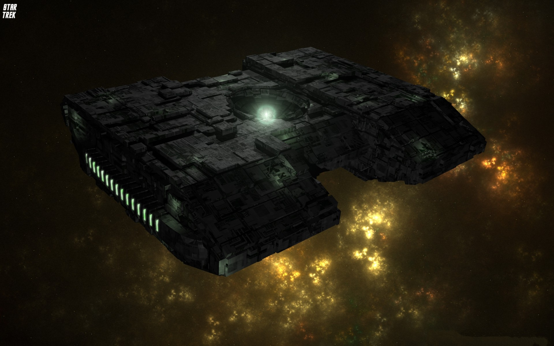 Borg Star Trek HD Wallpaper.