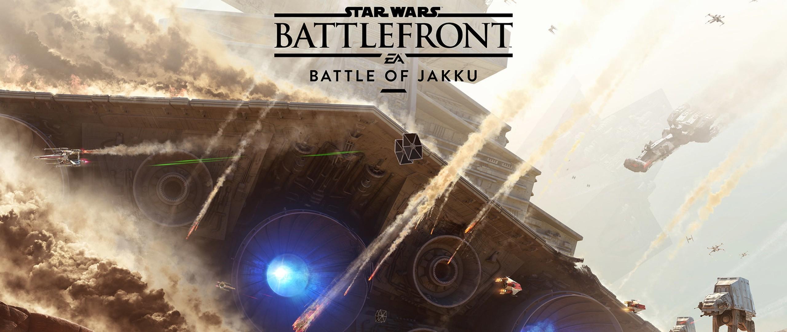 Preview wallpaper star wars, battlefront, battle of jakku 2560×1080