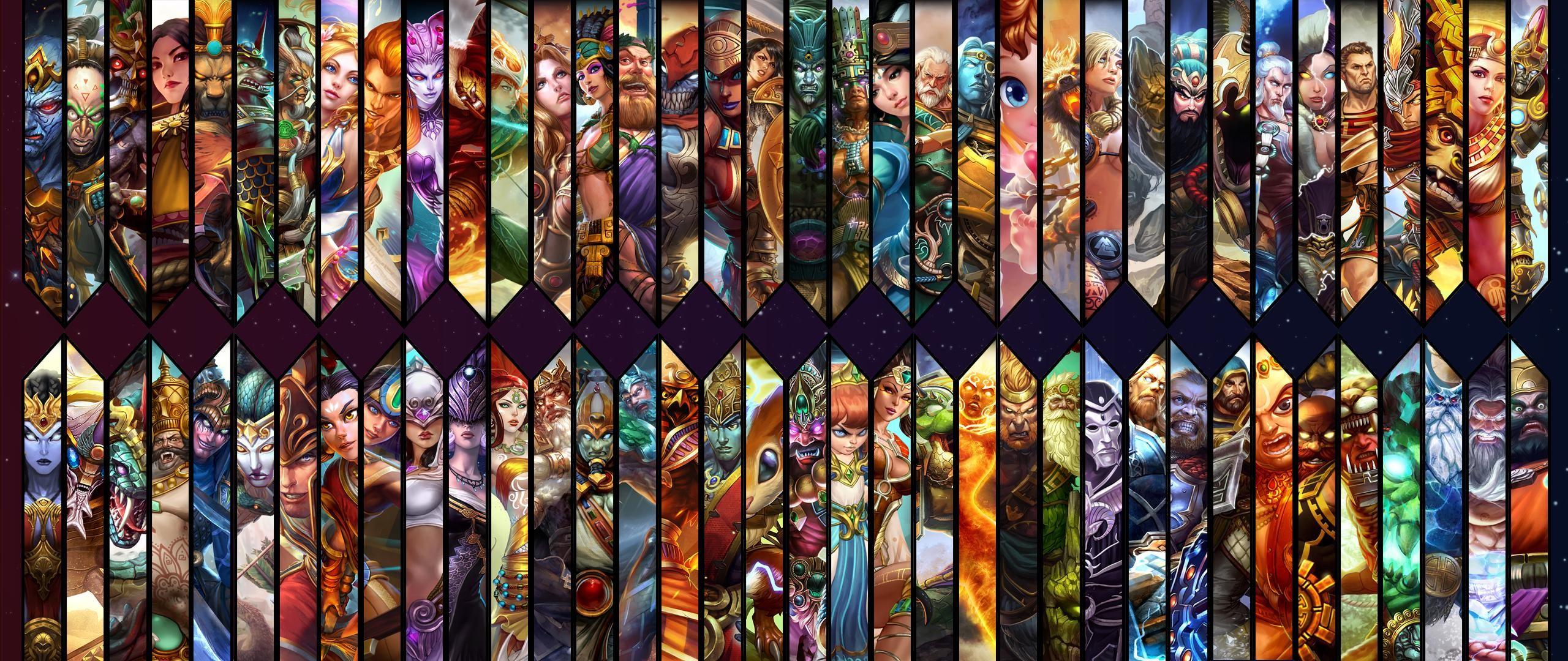 Smite God Wallpaper [2560×1080]