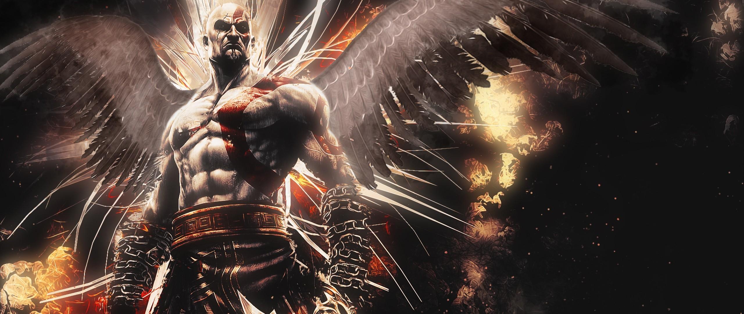 Preview wallpaper god of war, ascension, kratos 2560×1080