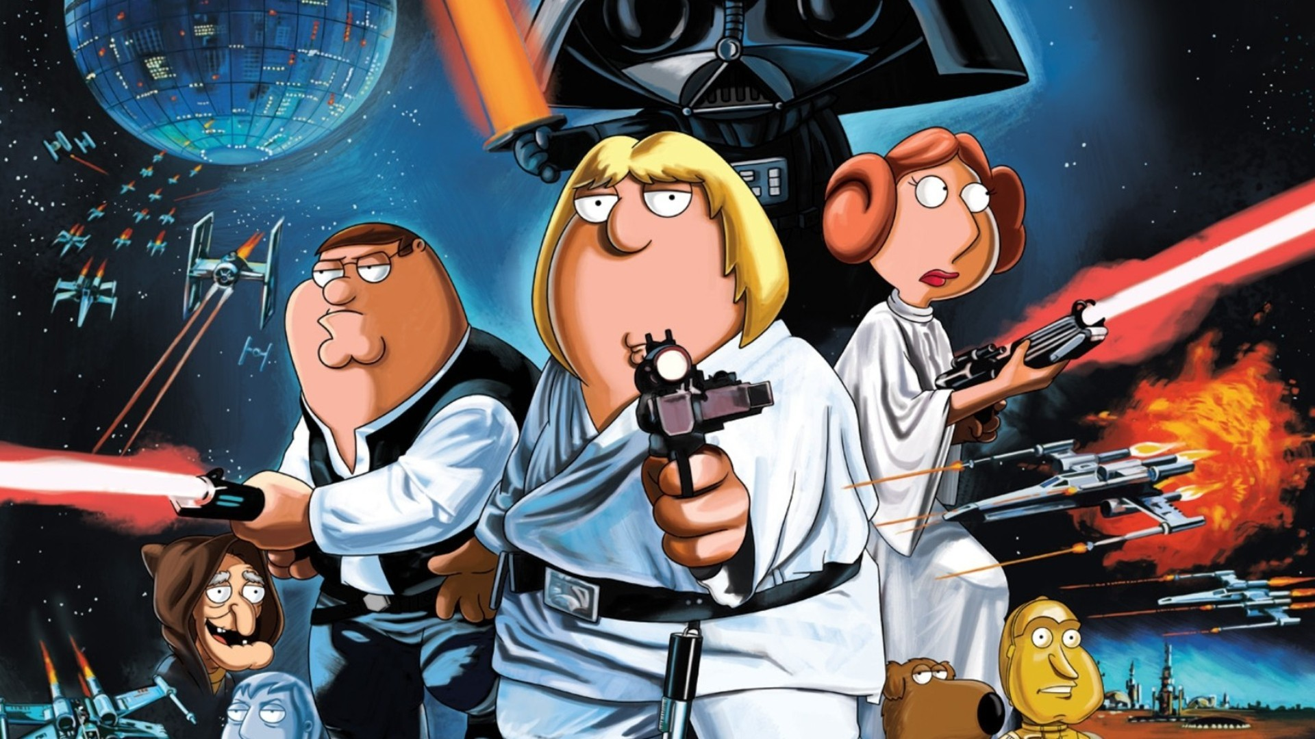 wallpaper Star Wars · Family Guy · The Nightmare Before Christmas