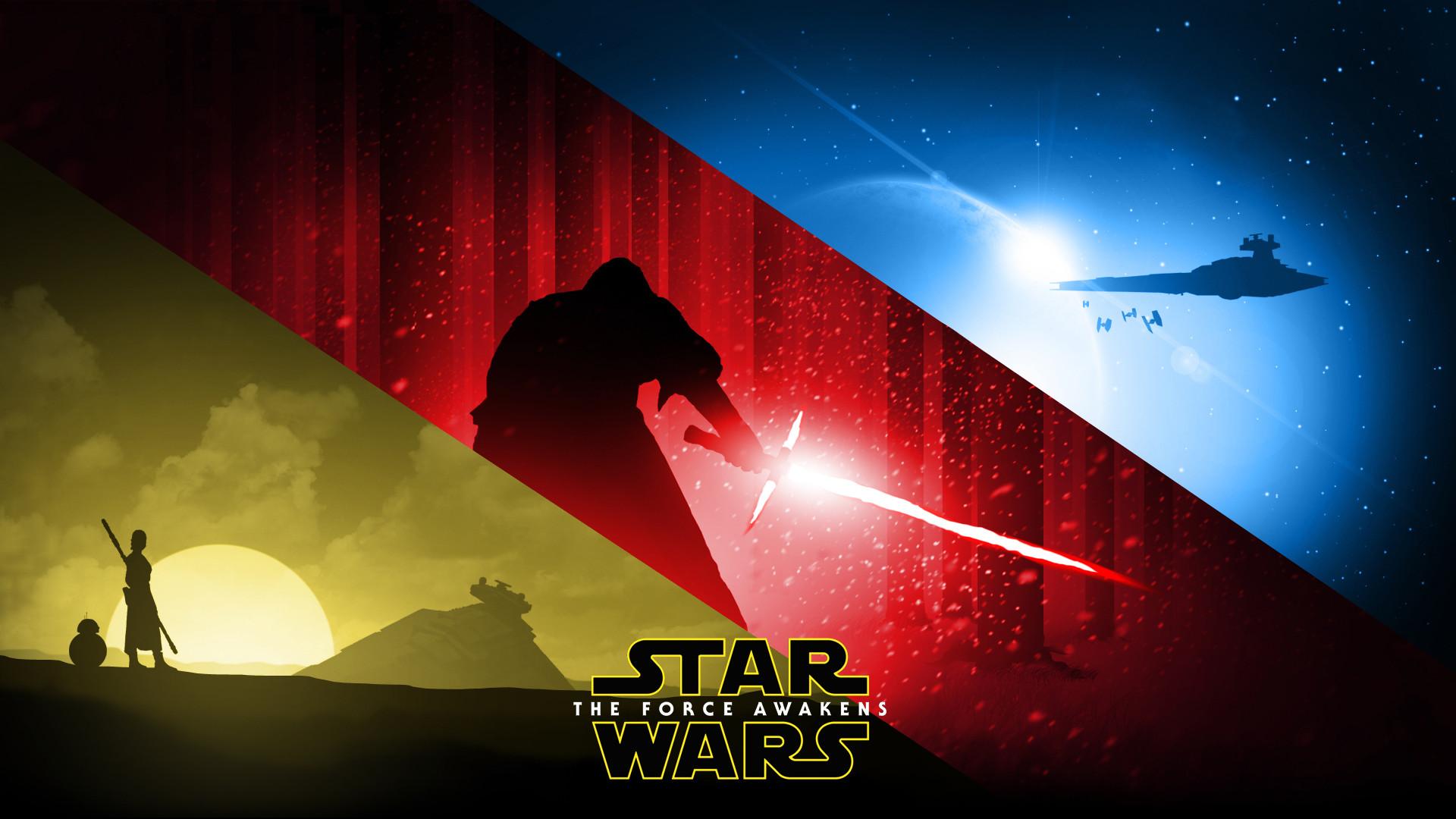 Star wars the force awakens wallpaper.