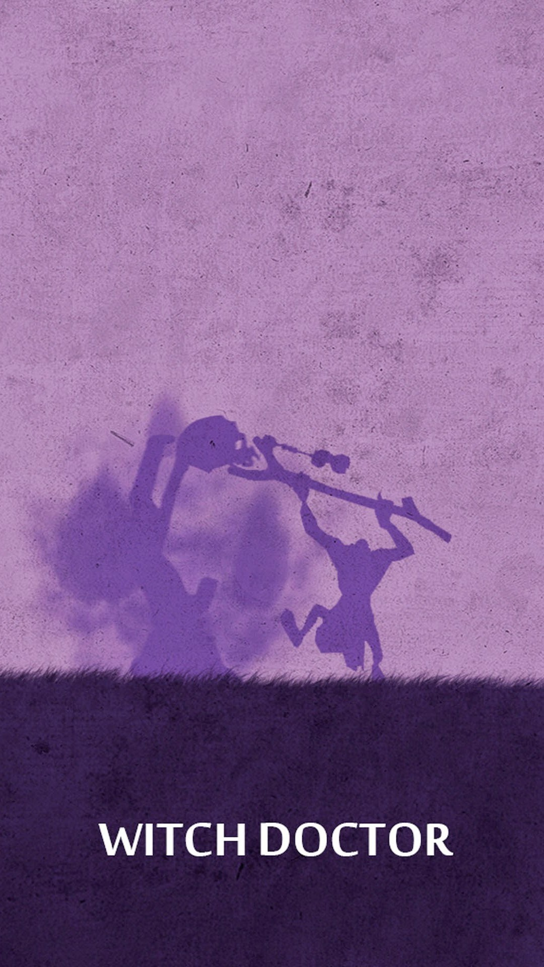 DOTA 2 Witch Doctor. Tap image for more DOTA 2 iPhone wallpaper! – @