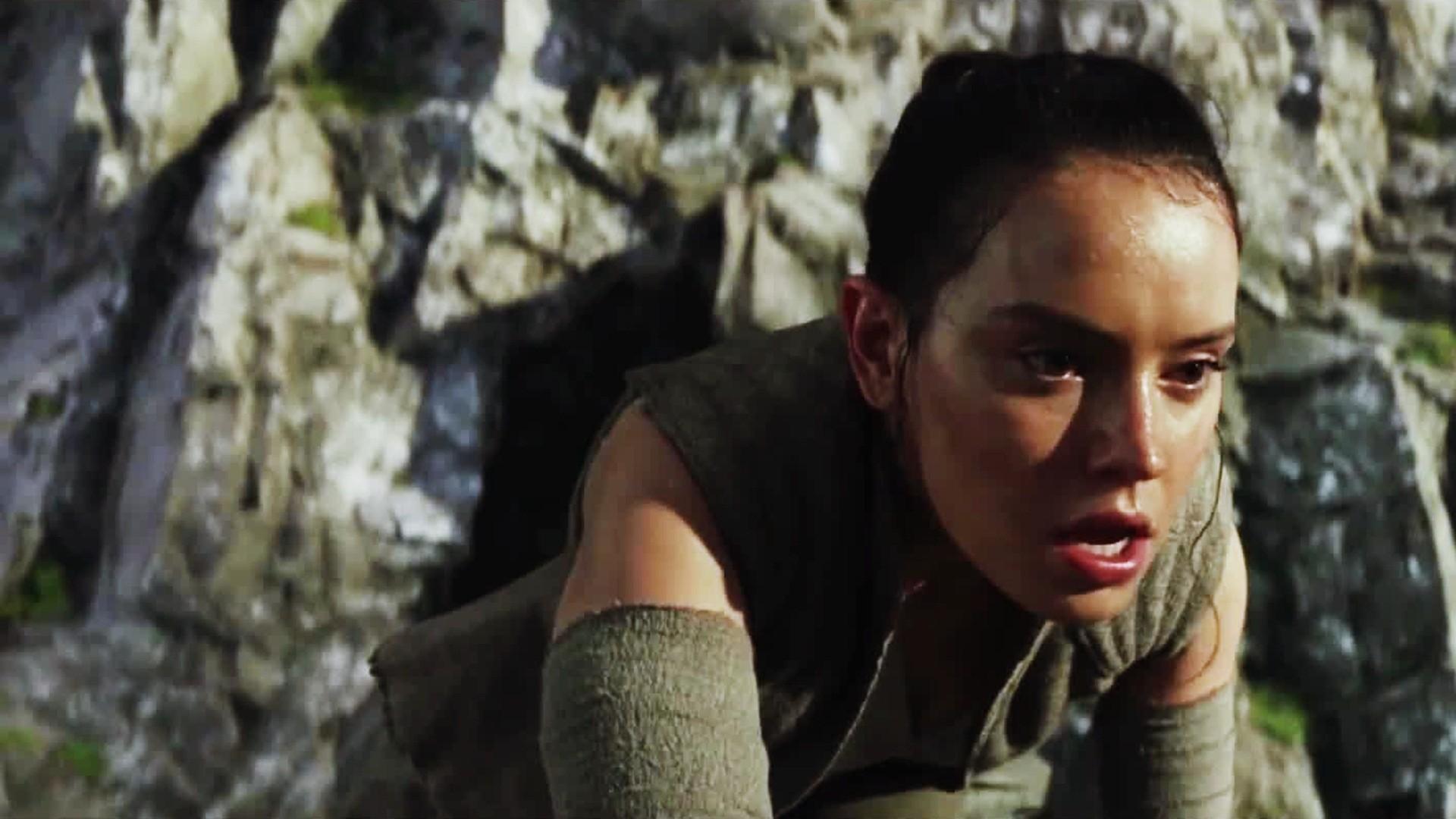 Daisy Ridley As Rey Star Wars The Last Jedi Wallpaper 17125