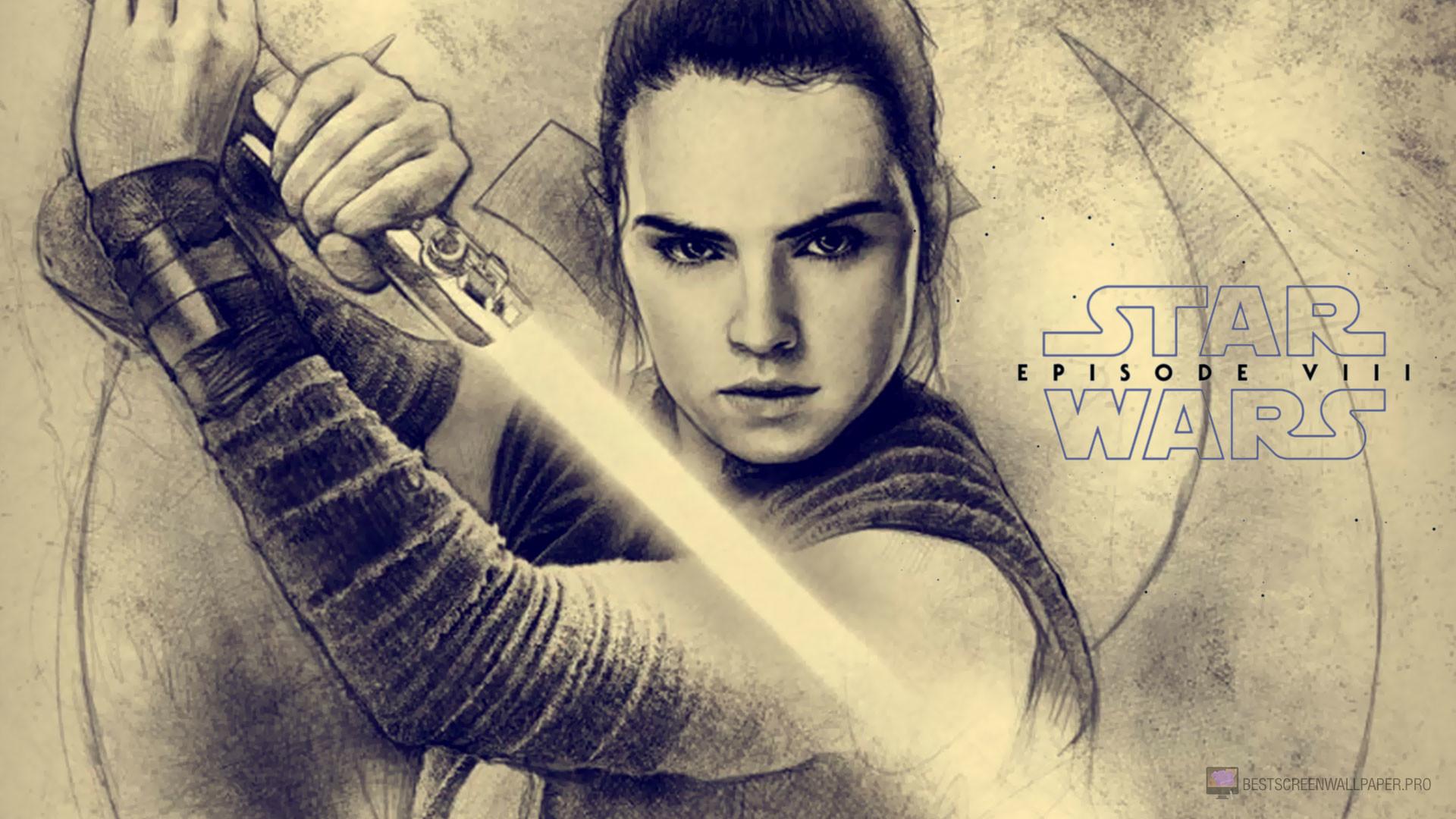 Movie – Star Wars Episode VIII: The Last Jedi Rey (Star Wars) Wallpaper
