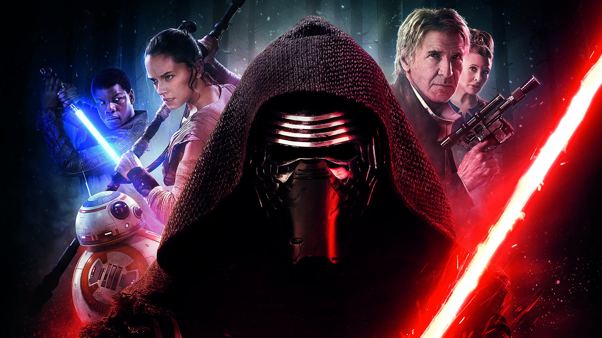 Movie – Star Wars Episode VII: The Force Awakens Star Wars Harrison Ford  Carrie Fisher