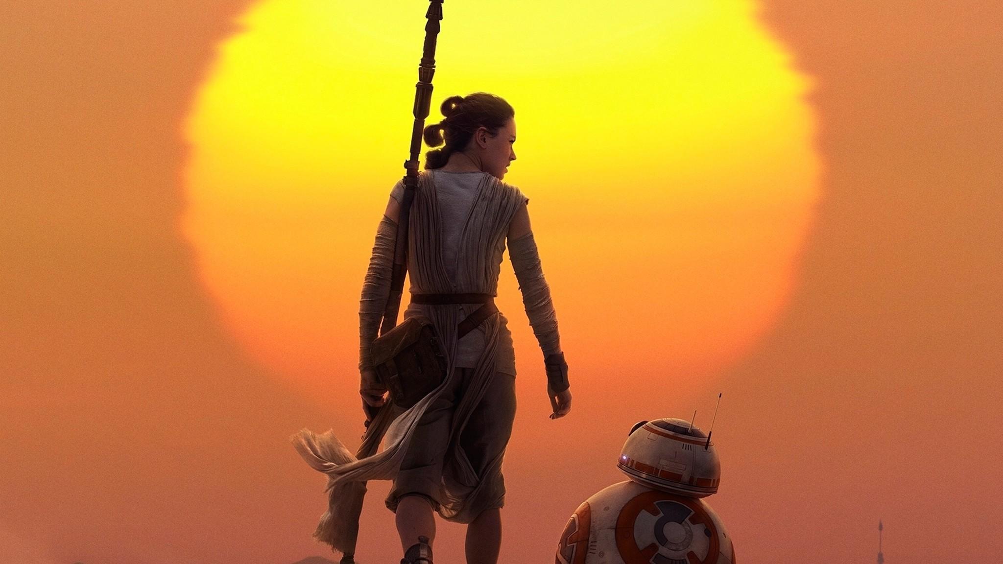 Download Rey BB8 Star Wars HD 4k Wallpapers In .