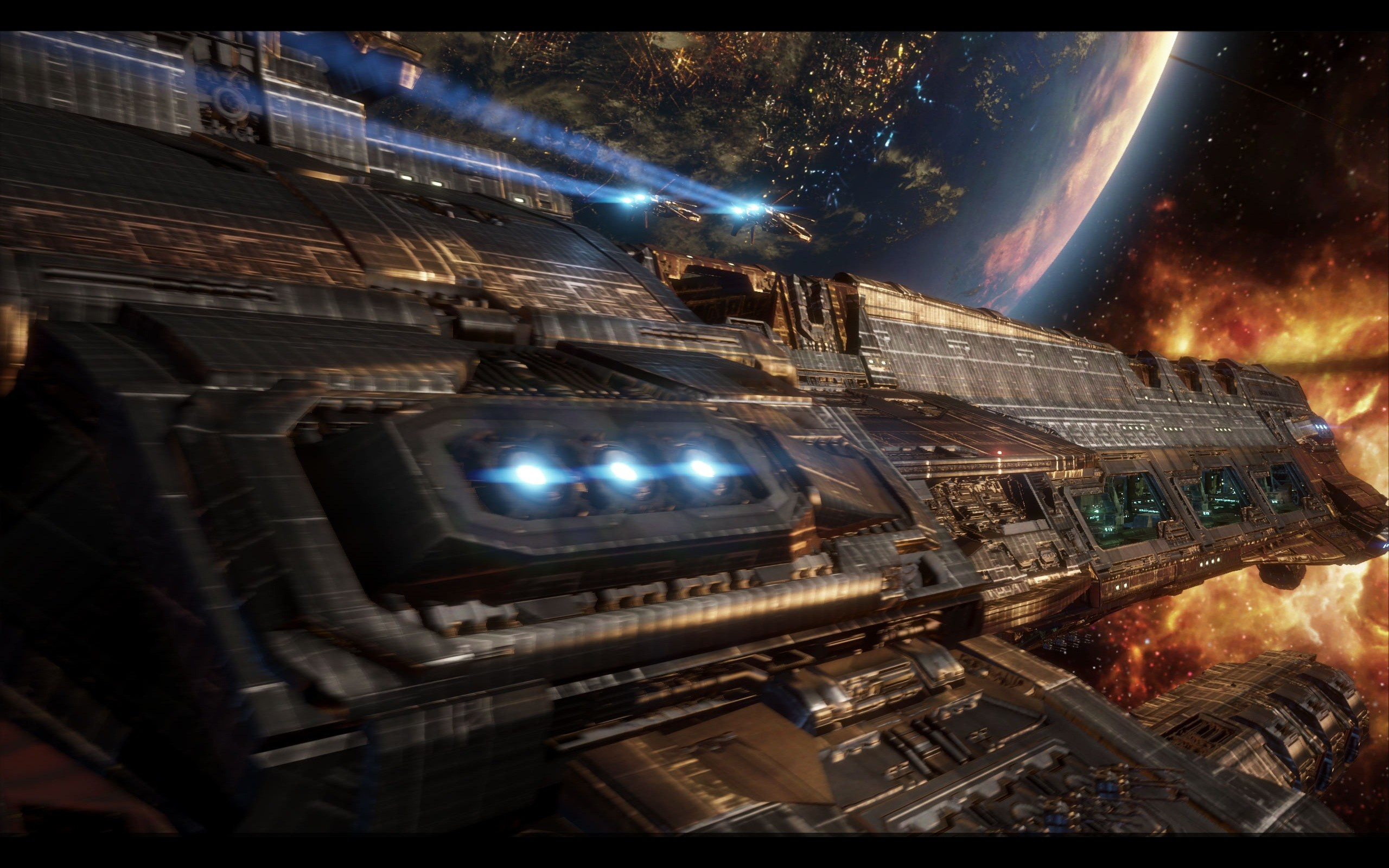 Star wars outer space spaceships vehicles wallpaper | .