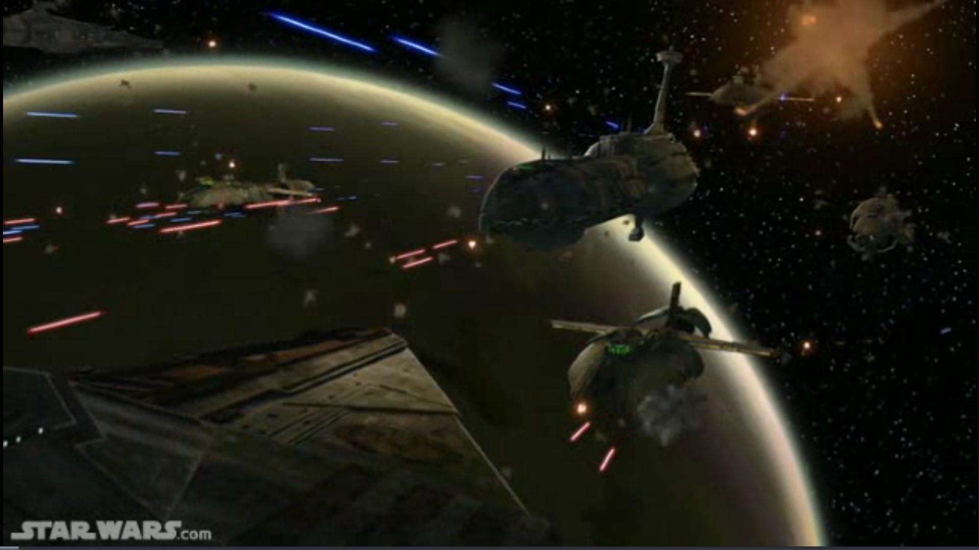 Report RSS TCW Season 3 Space Battle Image (view original)