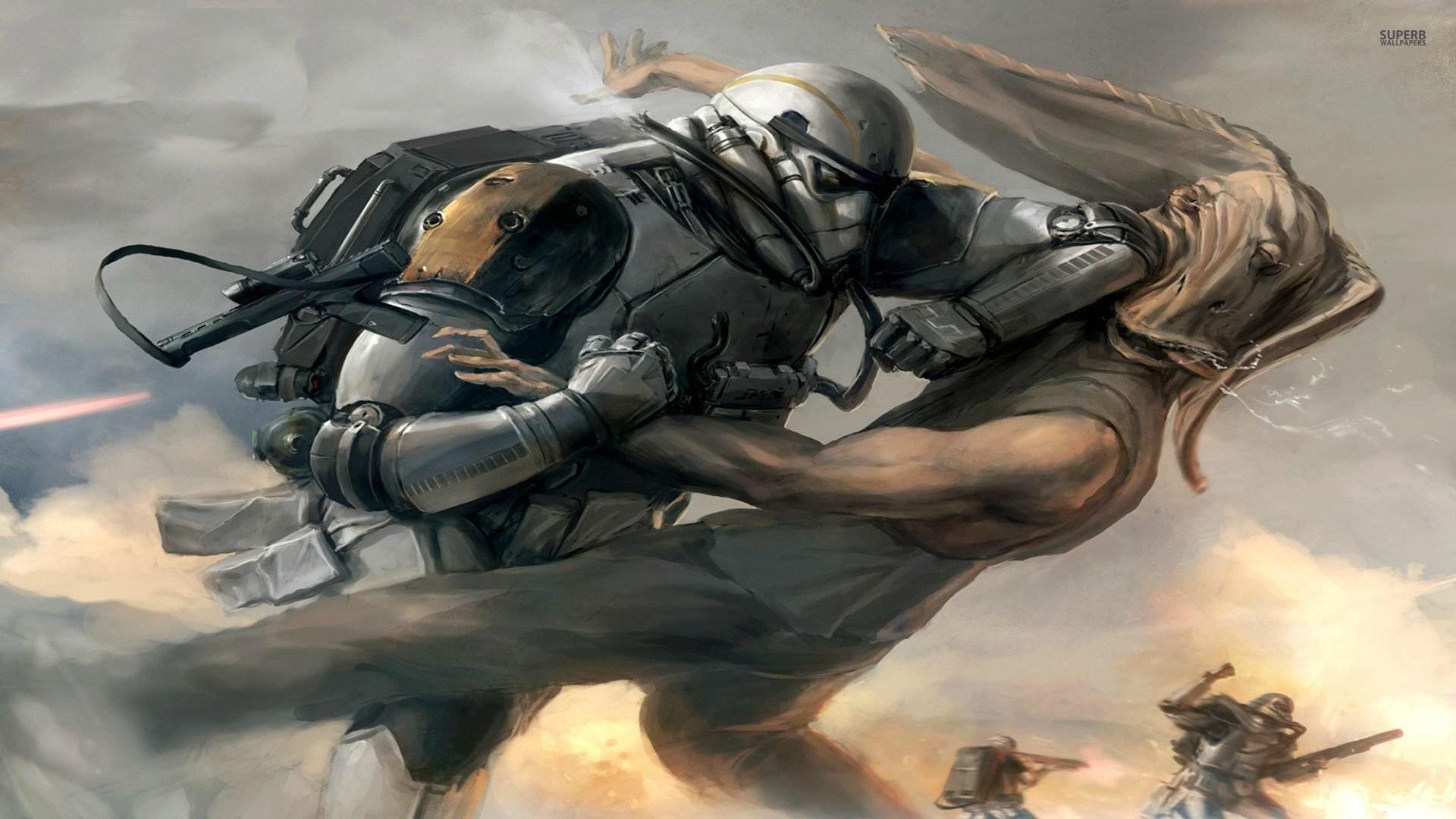Star Wars Battle 884135