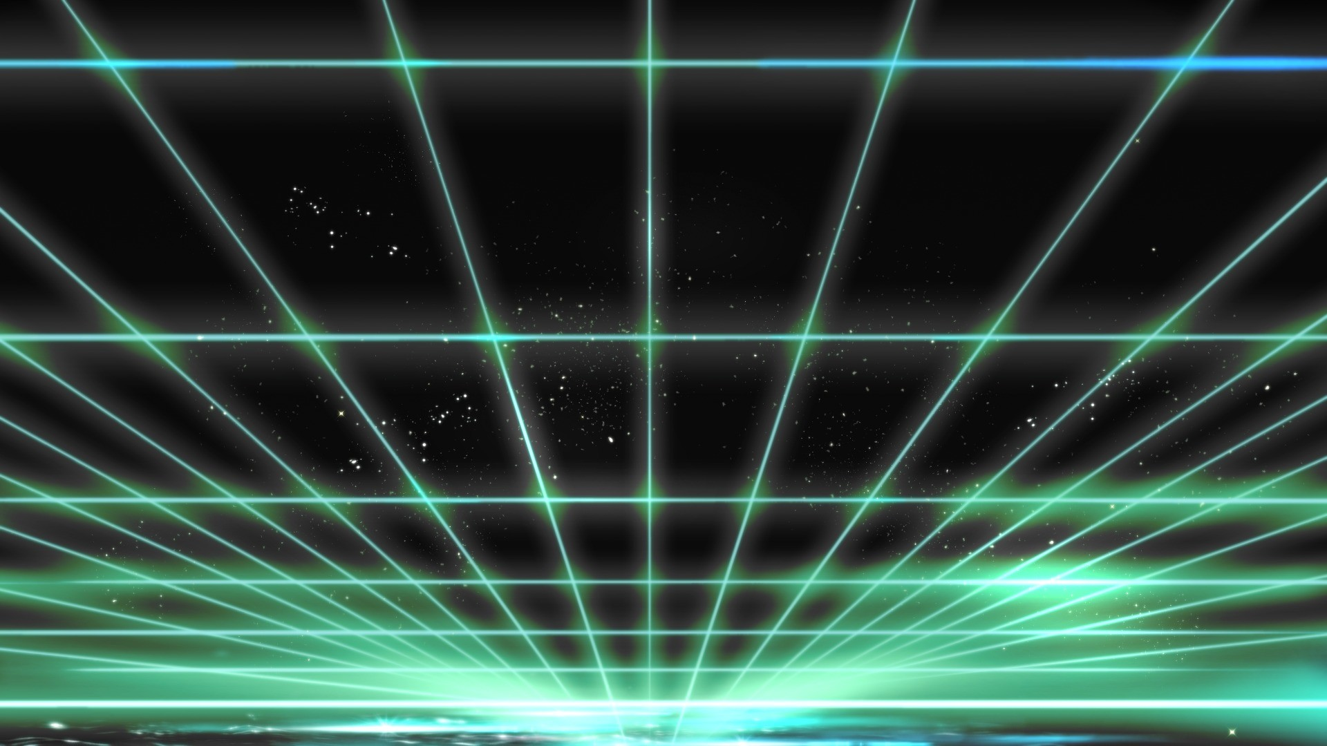 Tron Light Grid Wallpaper