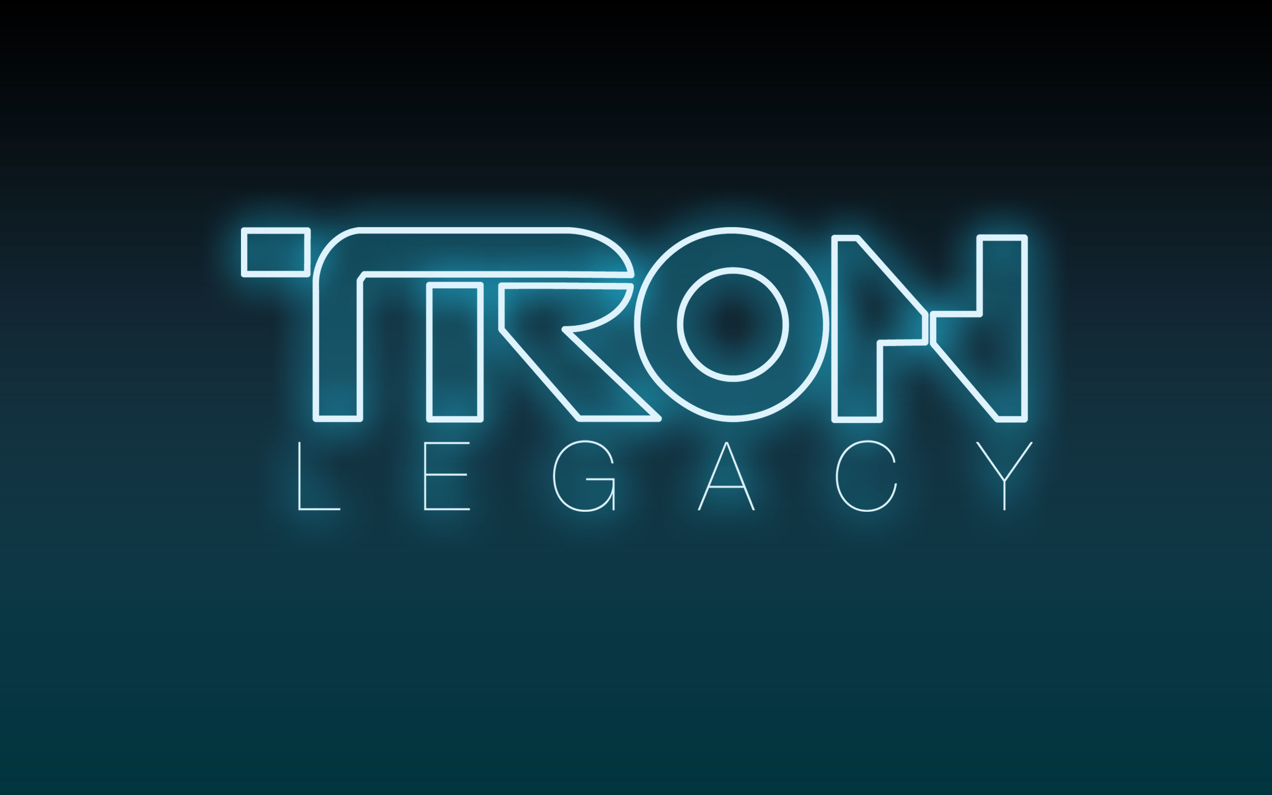 Disney's Tron: Legacy Movie Logo wallpaper – Click picture for high  resolution HD wallpaper