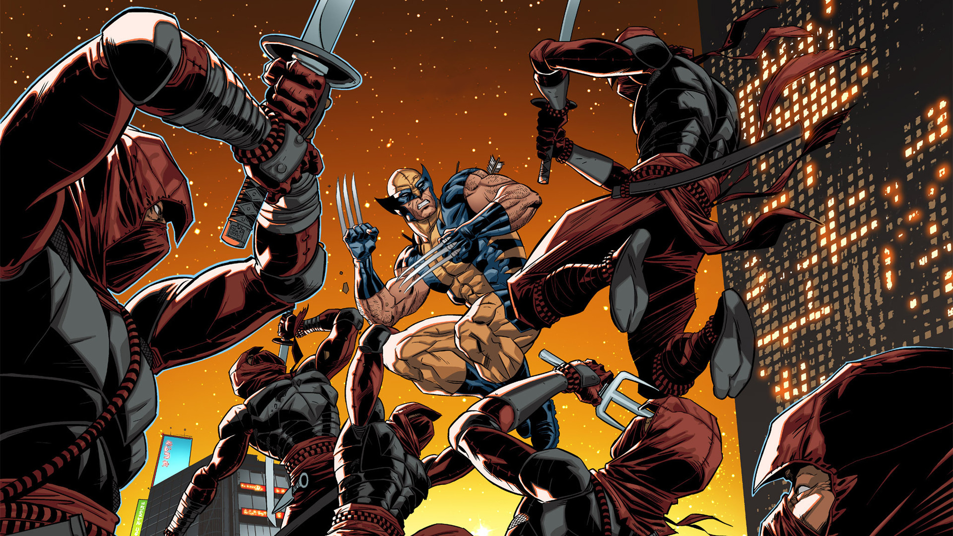 Comics – Wolverine: Japan's Most Wanted Wolverine Wallpaper
