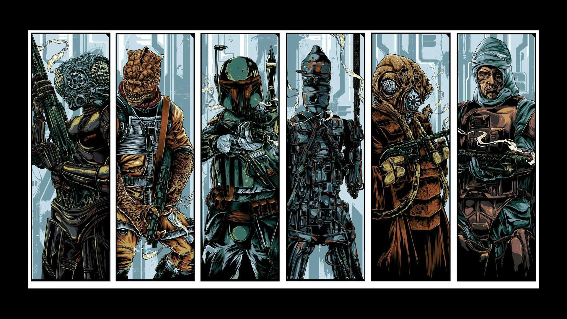 30 of my favorite Star Wars wallpapers (1920×1080)