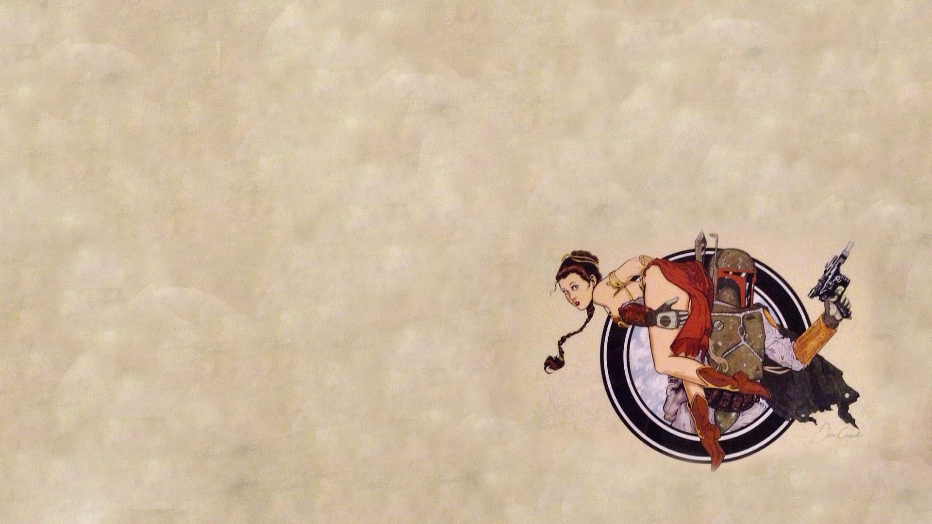 Sci Fi – Star Wars Boba Fett Princess Leia Wallpaper