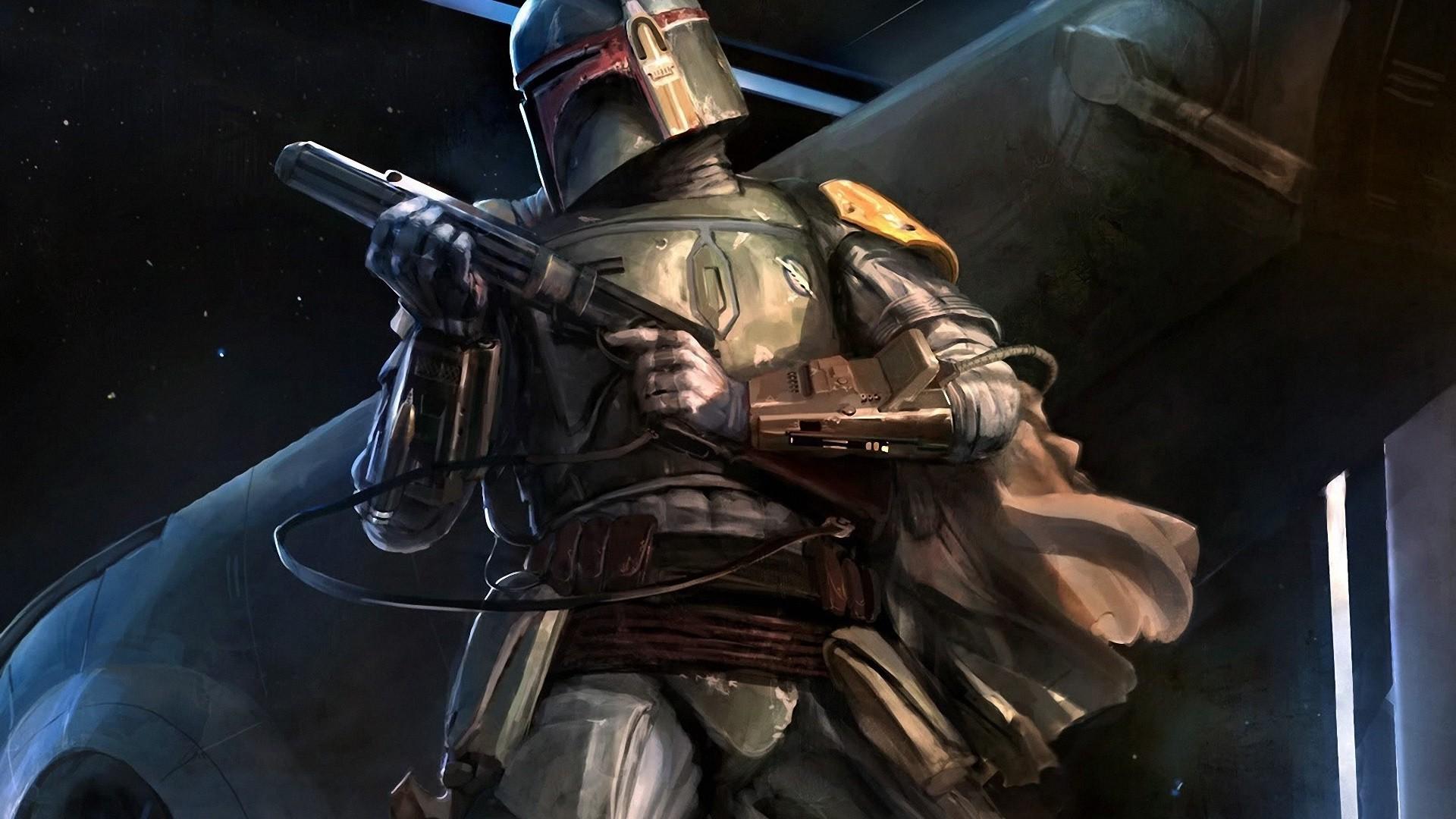 Star Wars, Boba Fett, Bounty Hunter, Fan Art Wallpapers HD / Desktop and  Mobile Backgrounds