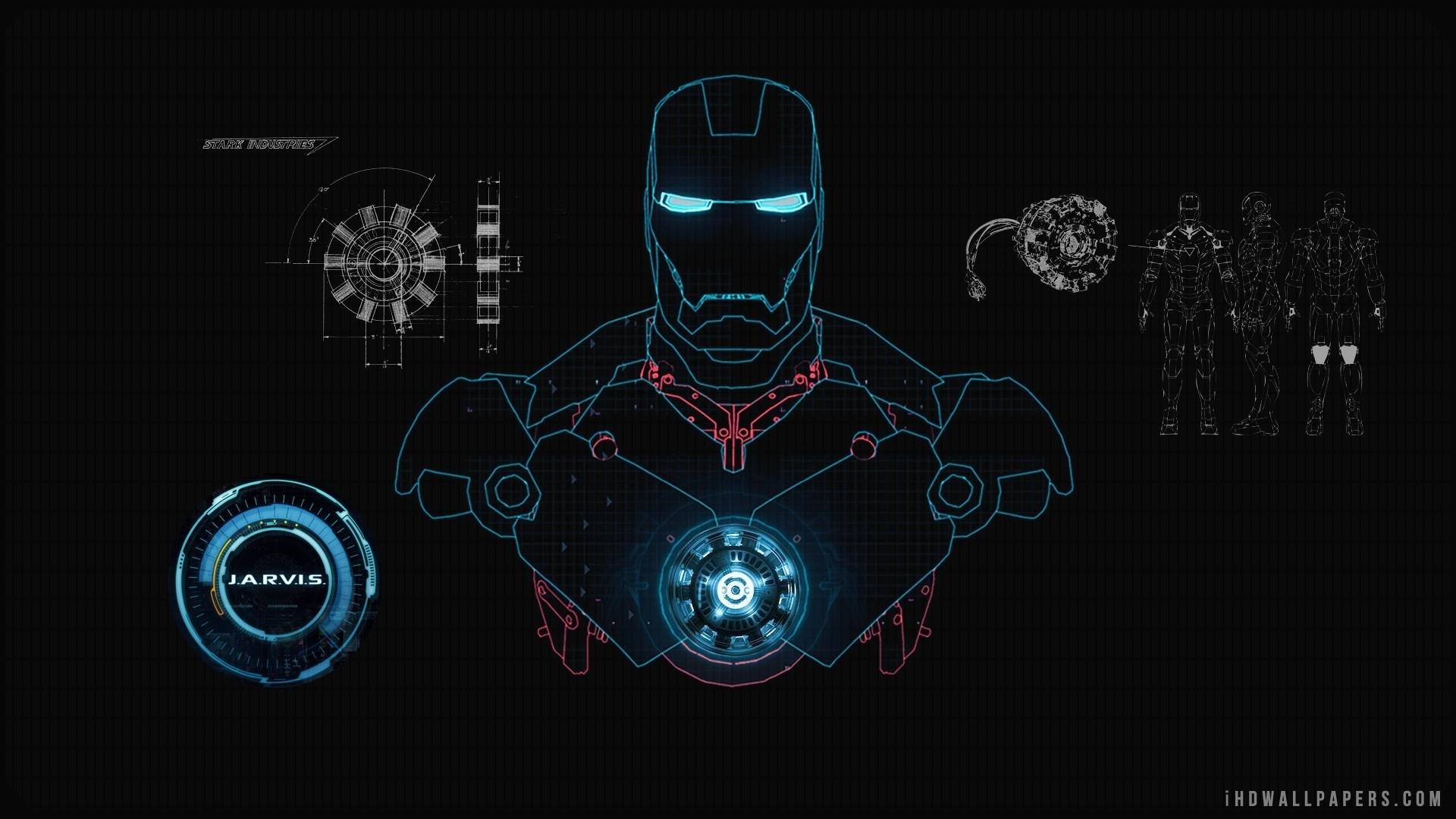 Iron Man JARVIS HD Wallpaper – iHD Wallpapers