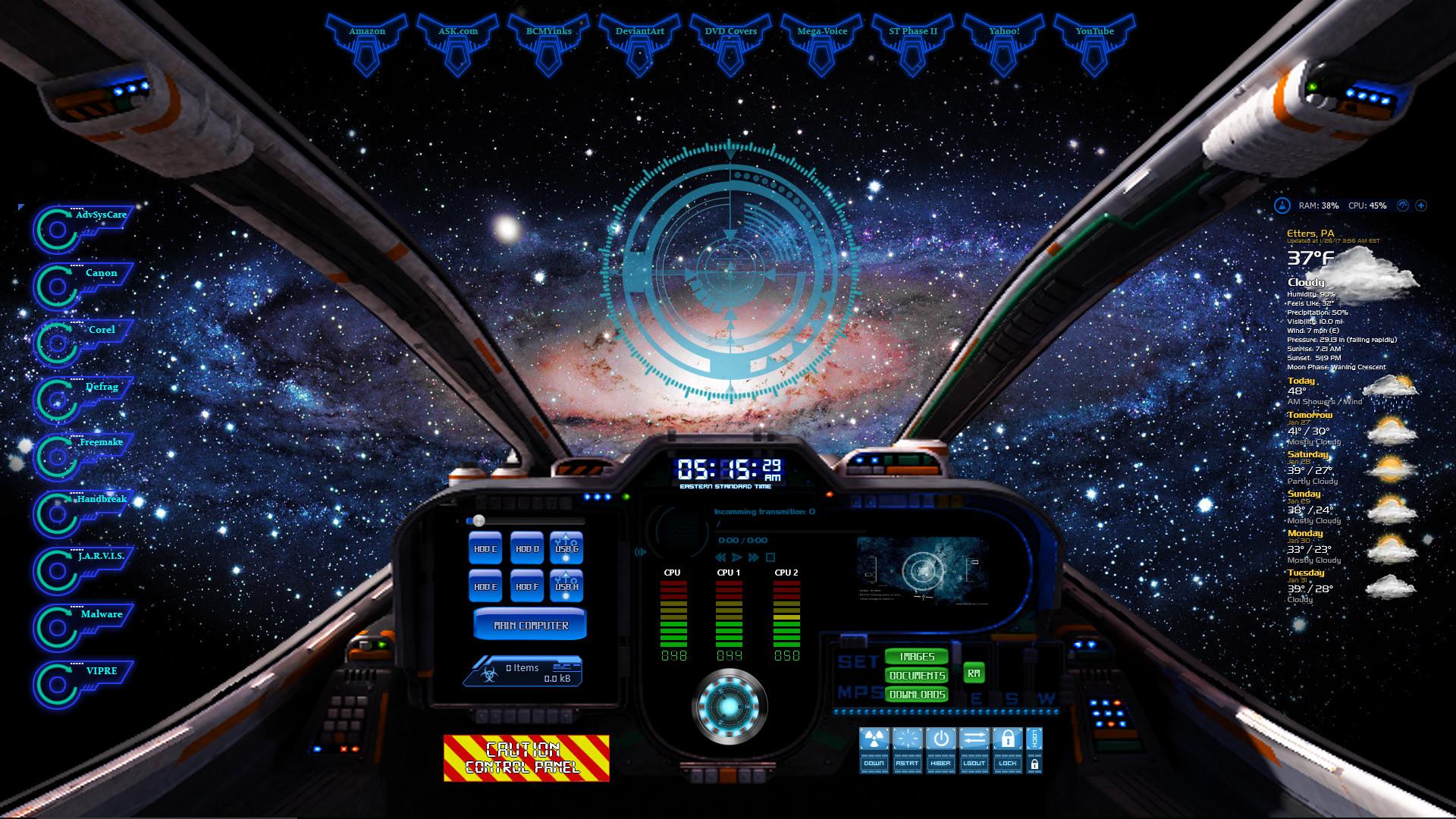 Spaceship Cockpit by oldcrow10 Spaceship Cockpit by oldcrow10