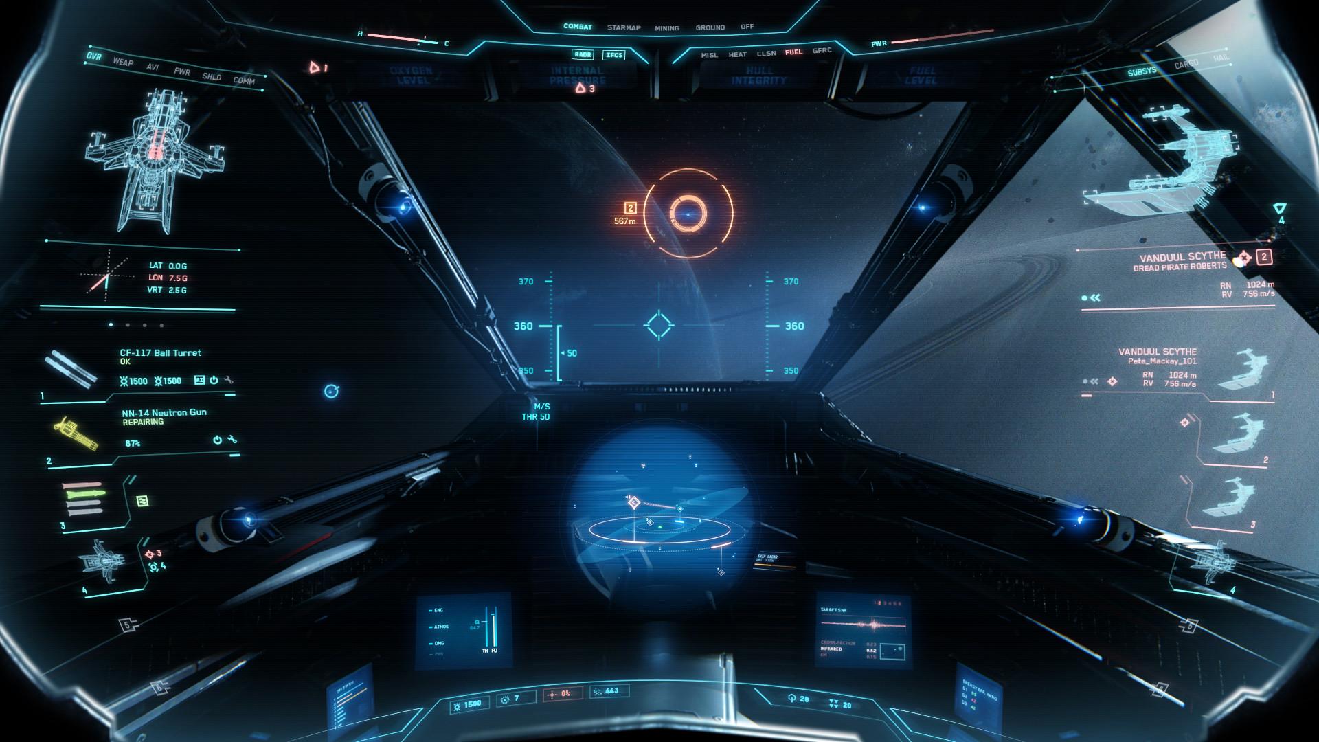 Spaceship interior