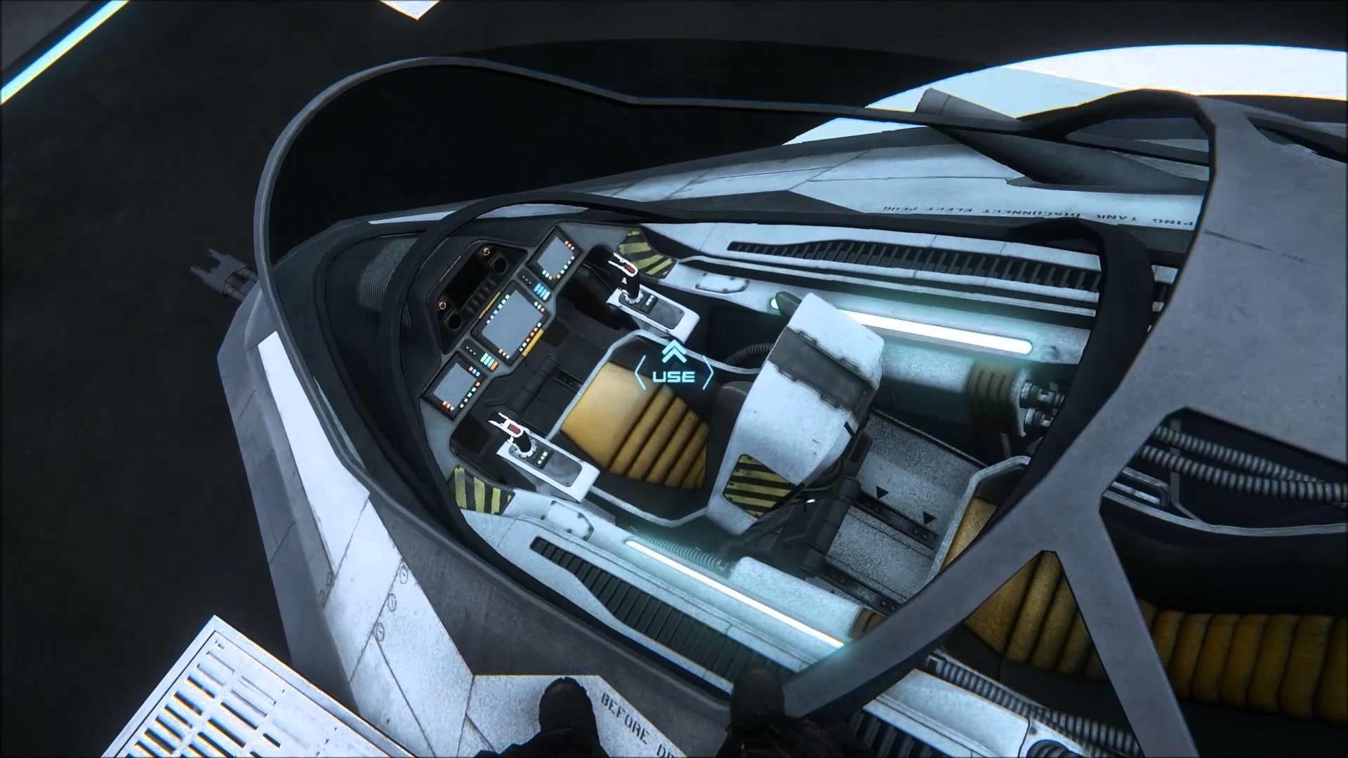 Spaceship Cockpit Wallpaper
