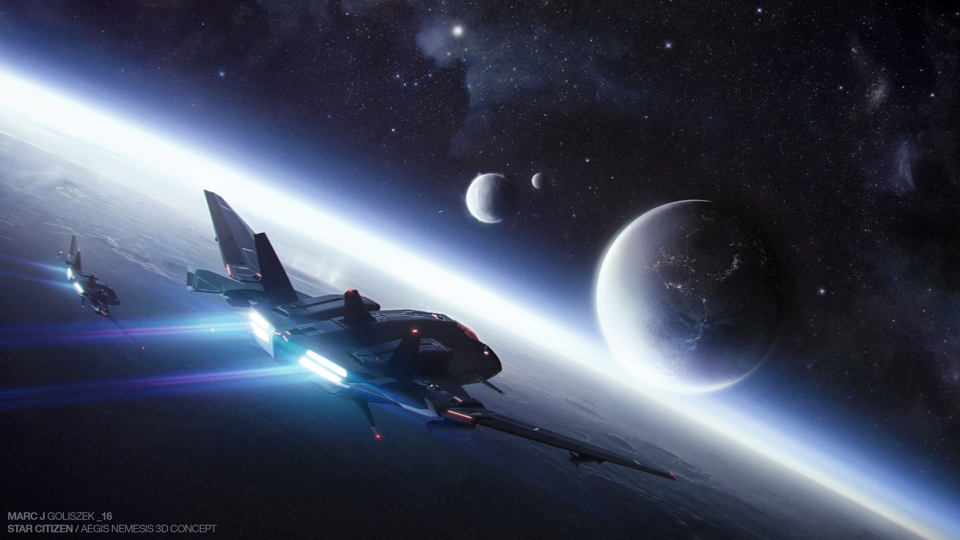 space Spaceship Star Citizen Wallpapers HD Desktop and Mobile 1920×1080