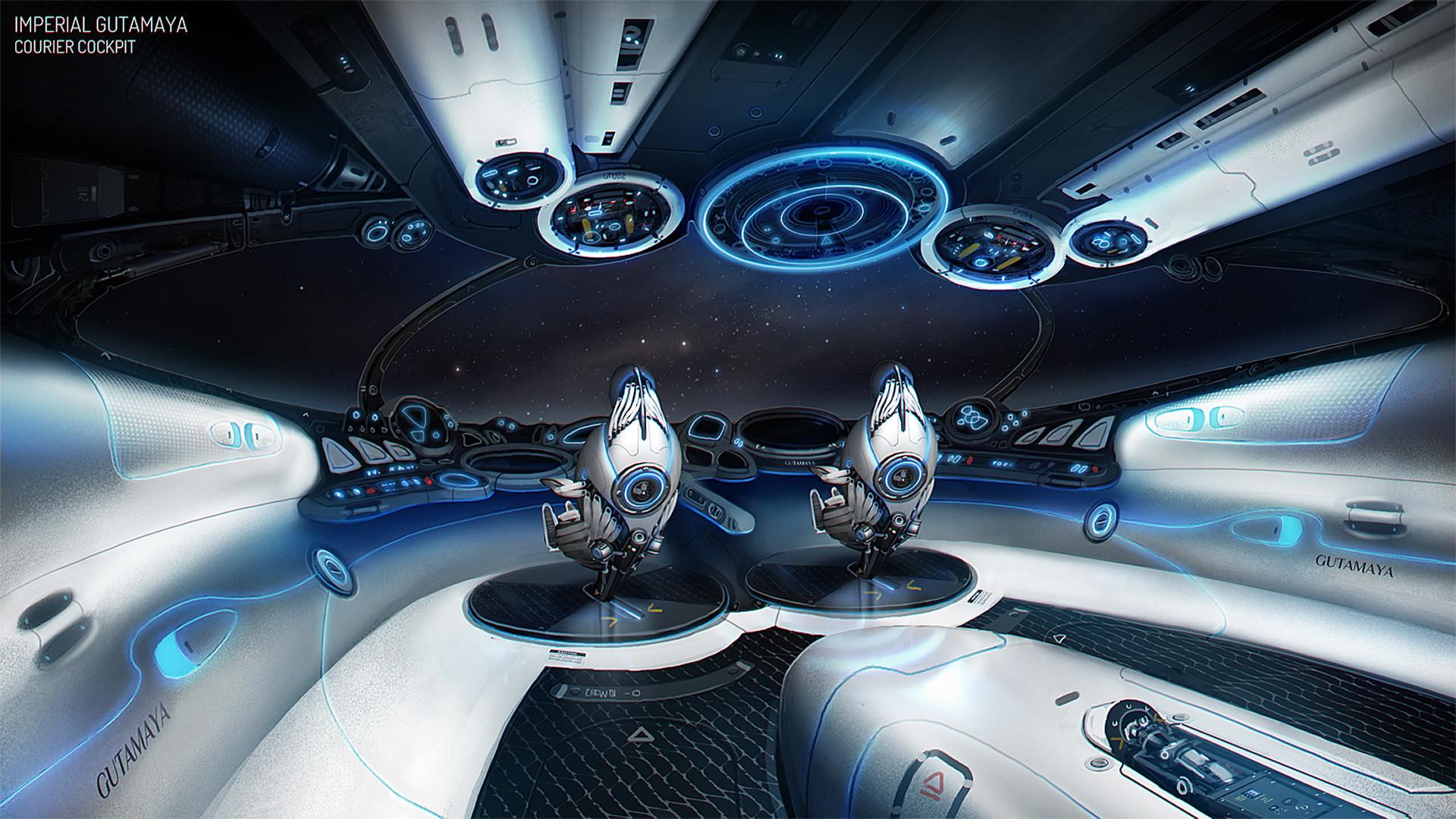 Elite Dangerous Ship cockpit