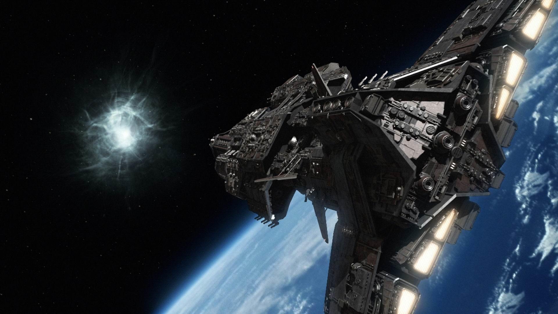 Spaceships Aurora Class Battleship Stargate Wiki Wallpapers Resolution :  Filesize : kB, Added on August Tagged : spaceships