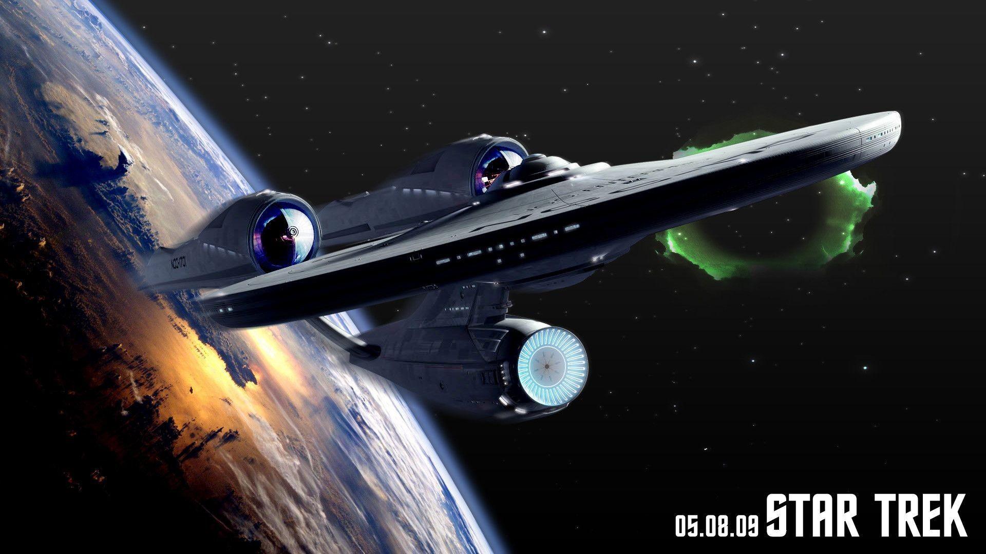 Star Trek Starship Enterpise Evolution in Photos Spacecom