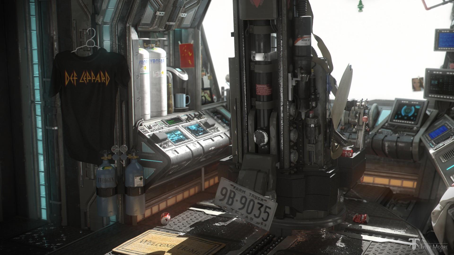 Spaceship cockpit. 11shares; Facebook · Twitter …