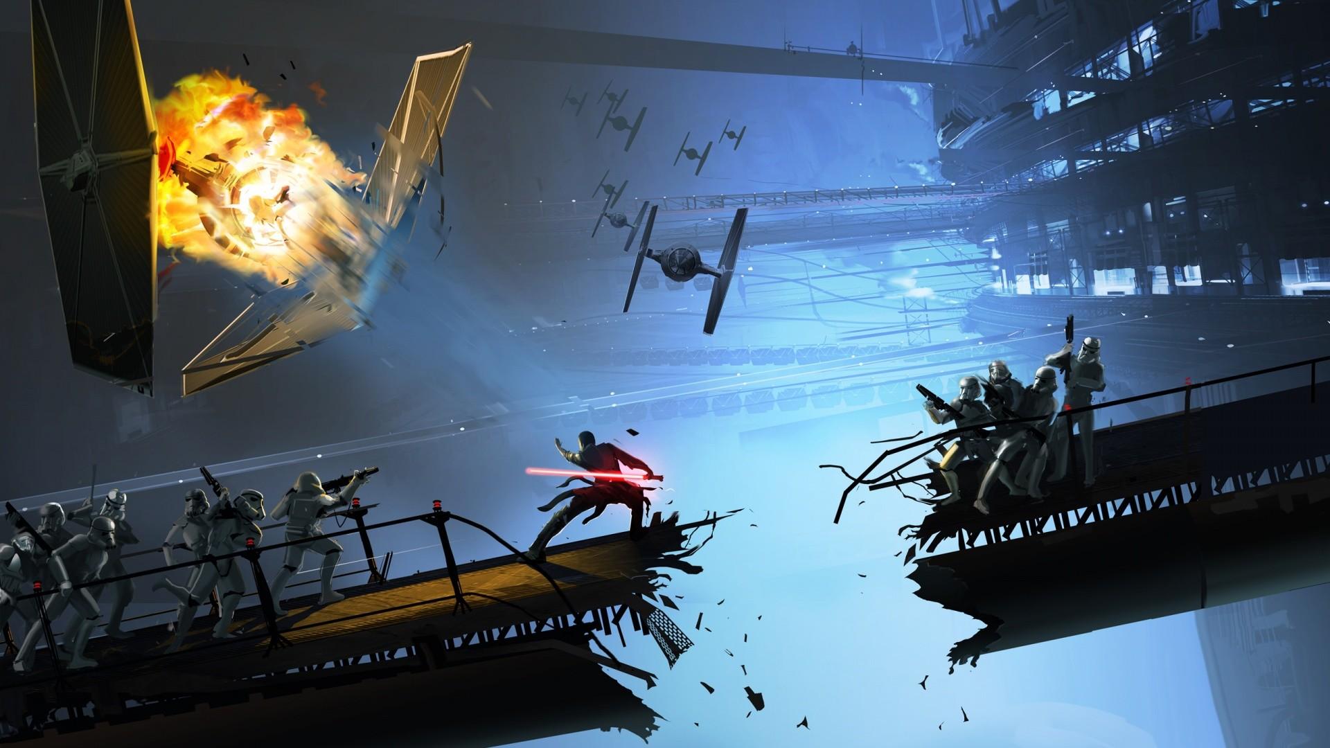 Star Wars Concept Art Wallpapers