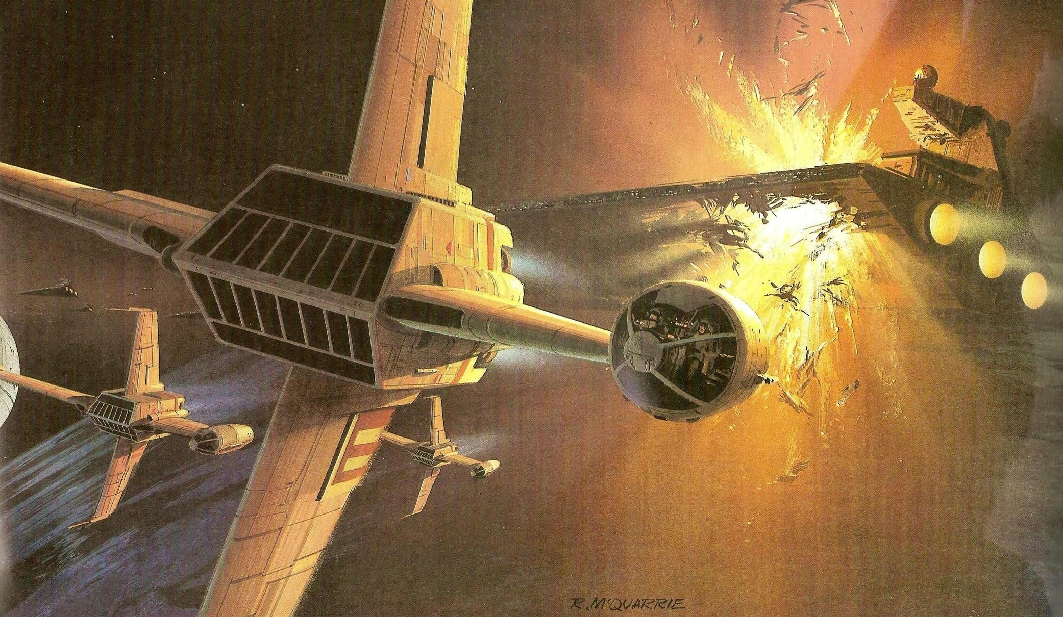 Sadly, We lost a big legend in the Sci-Fi concept art world yesterday.  Ralph McQuarrie has passed away at the age of I've always wa.