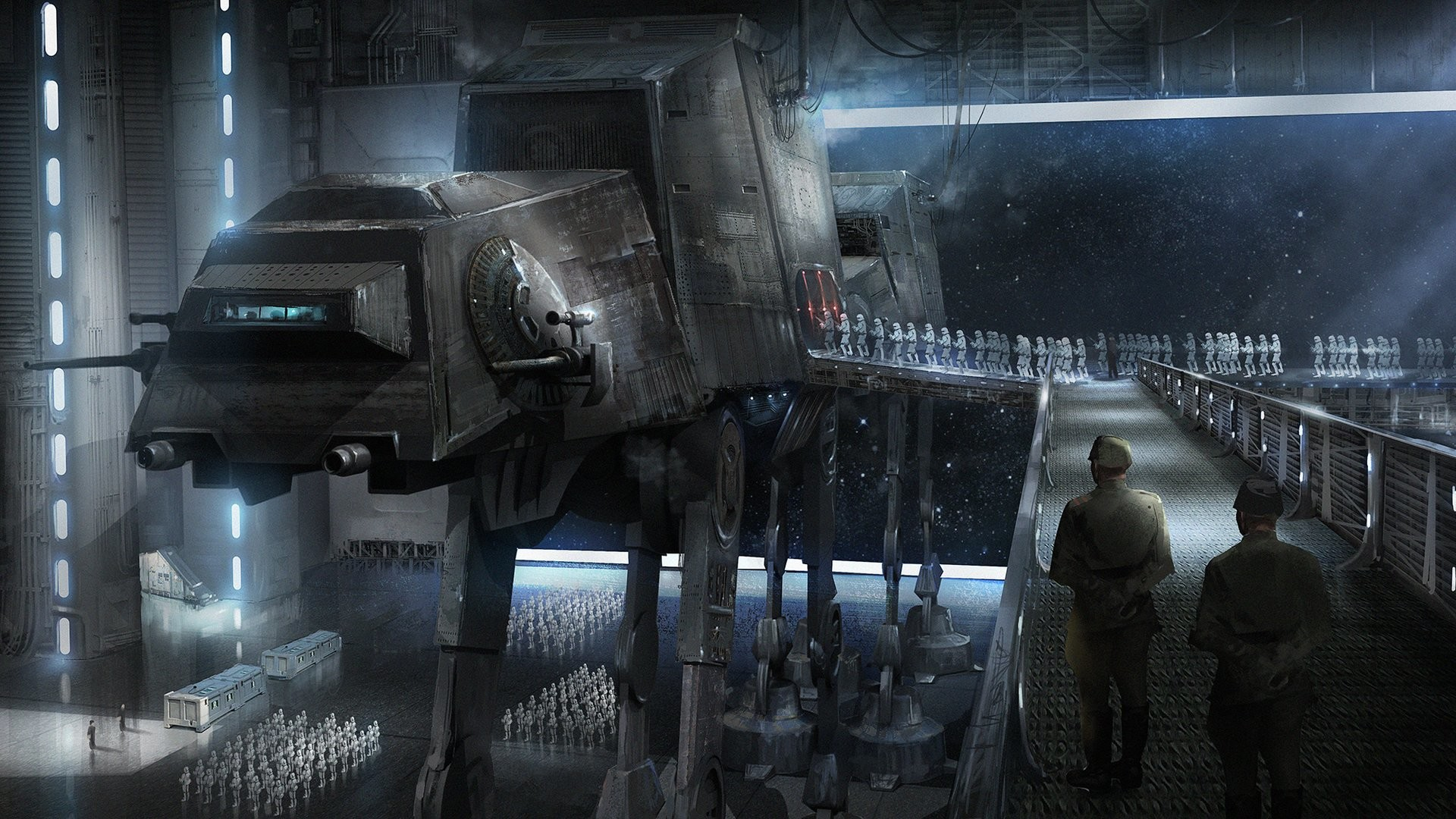 Deployment – Star Wars fan art by Tysen Johnson View Original Source Here