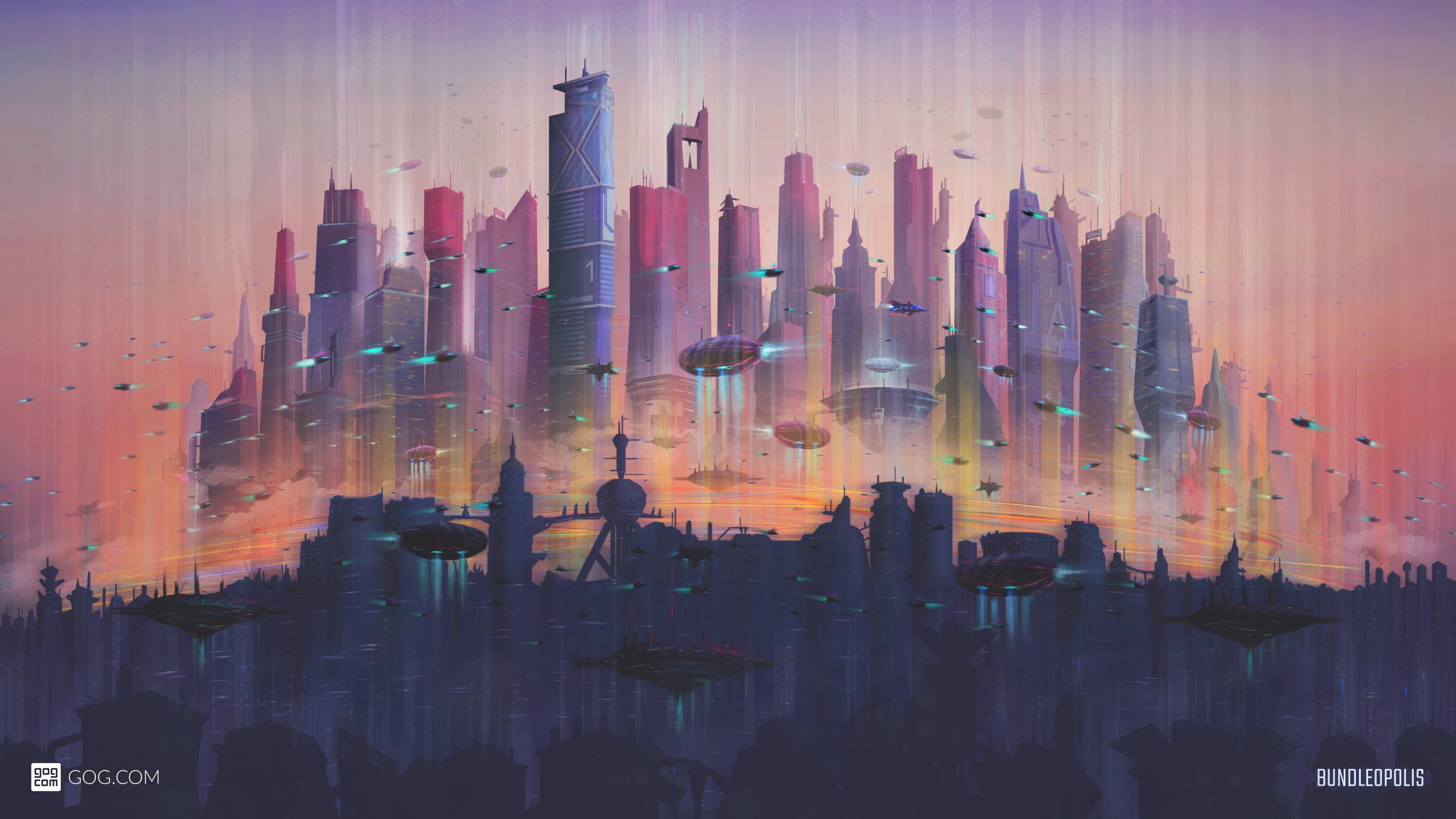Future Cityscape 4K