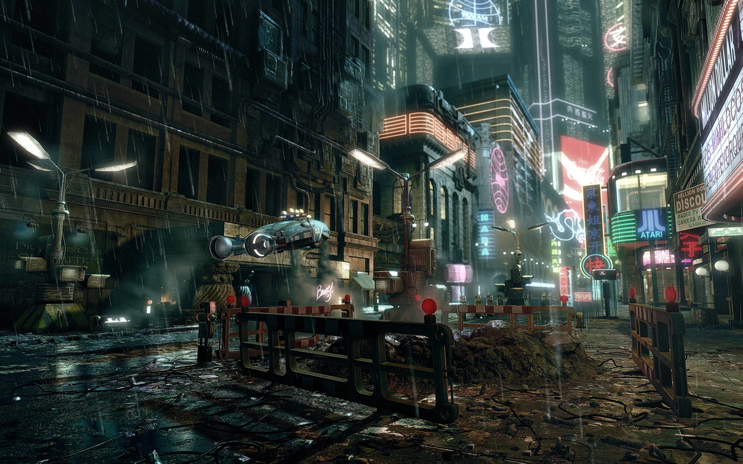 Wallpapers For > Futuristic City Wallpaper