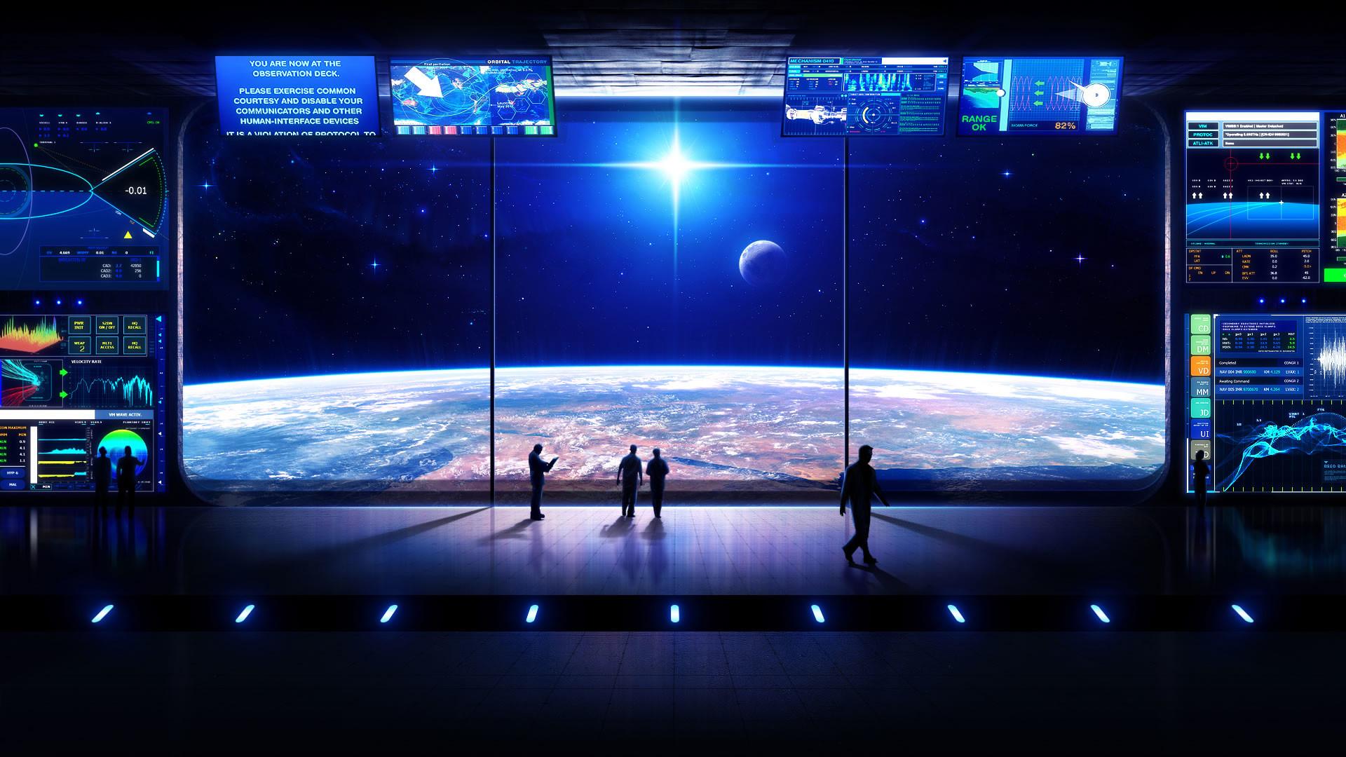 Future Life Desktop Wallpaper