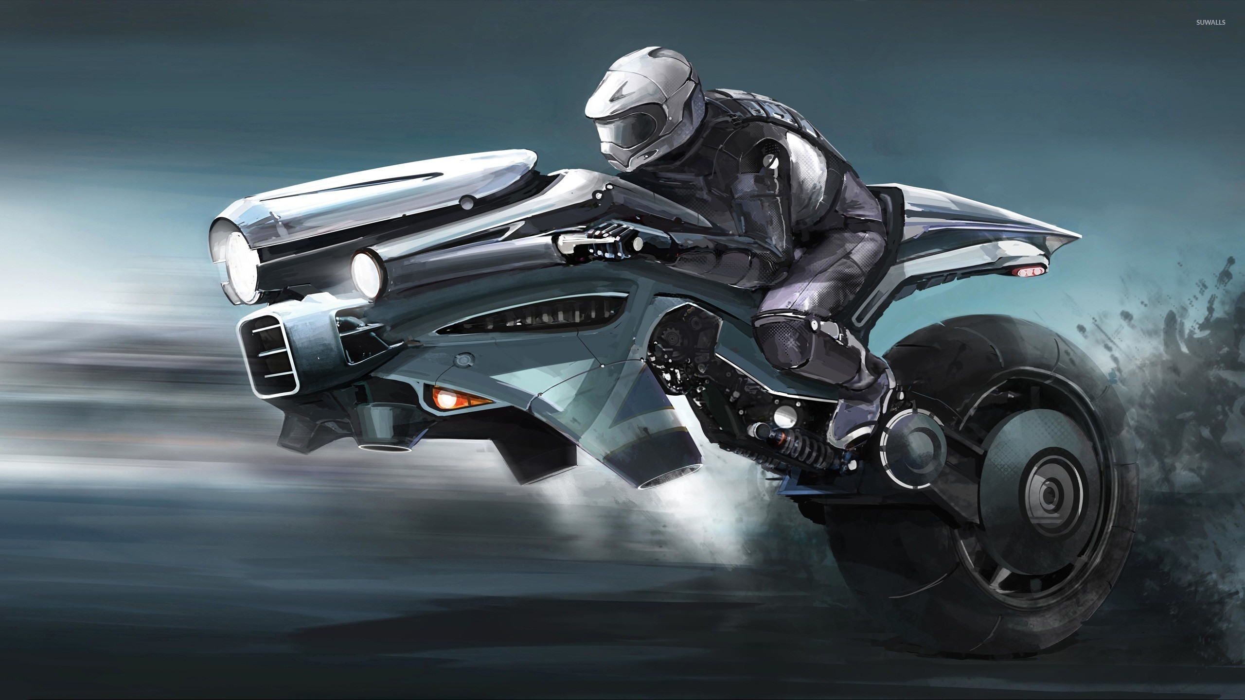 Motorcycle of the future wallpaper