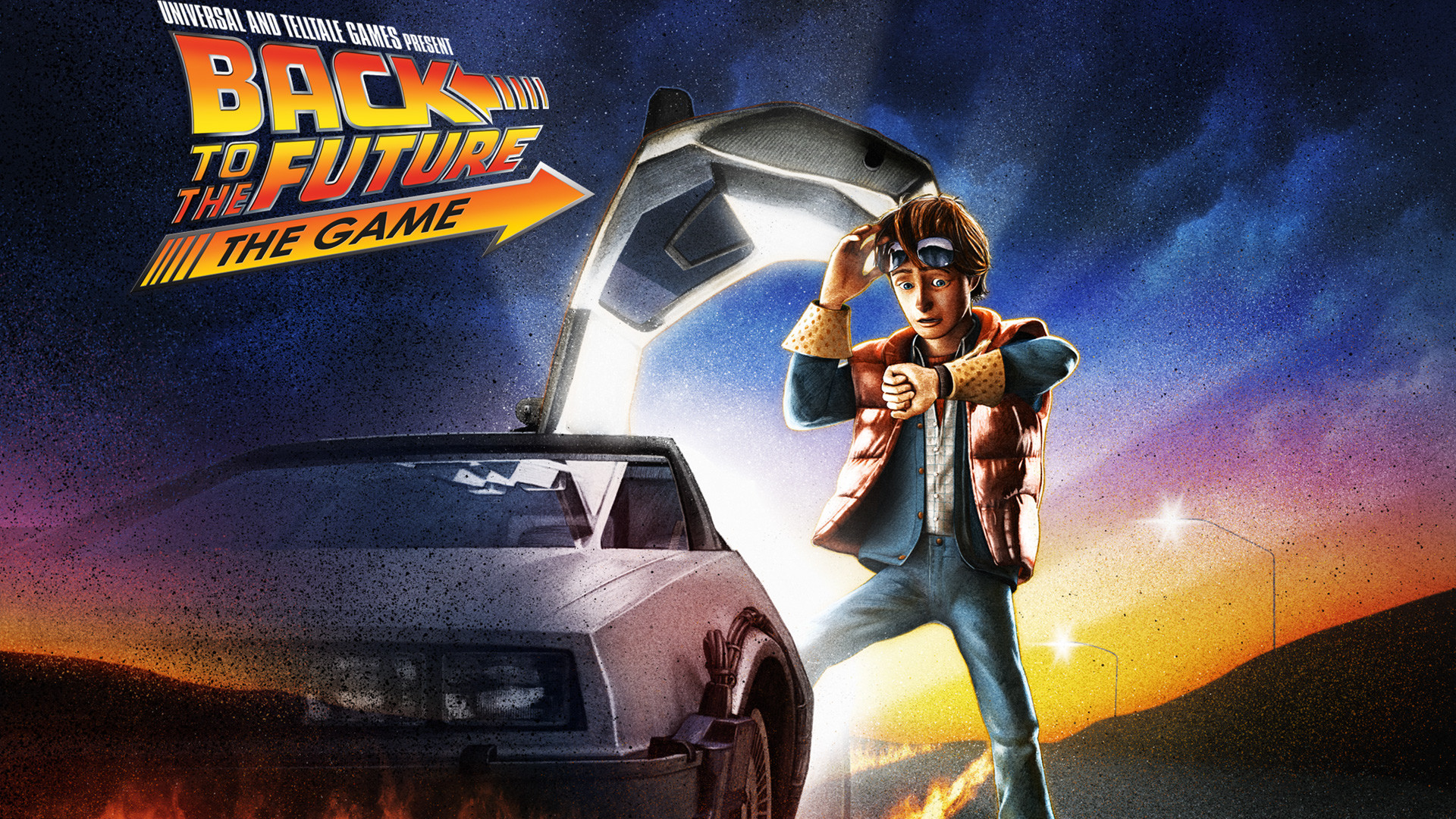 2 Back to the Future: The Game HD Wallpapers | Backgrounds – Wallpaper Abyss