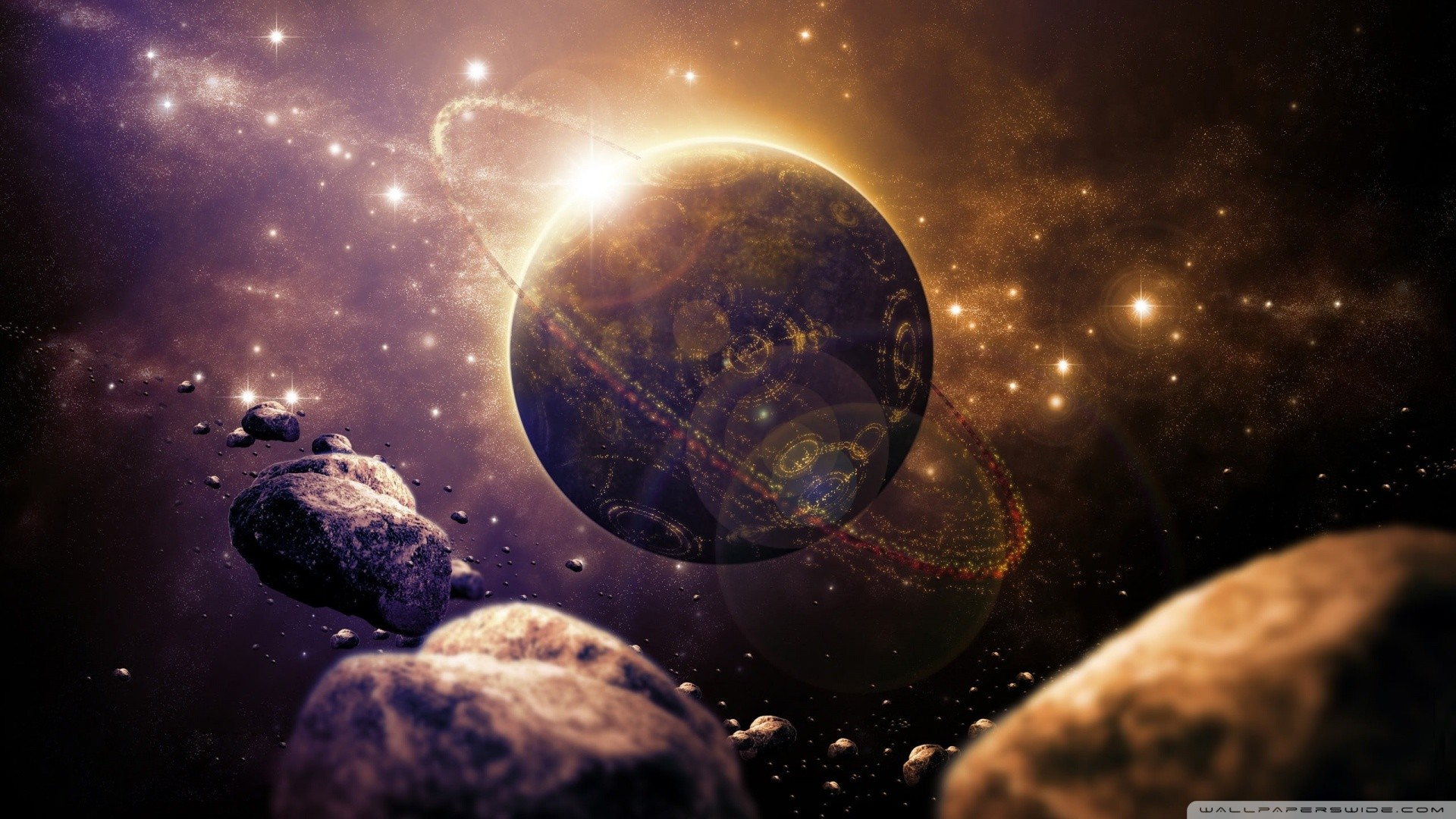 Sci fi Planet HD desktop wallpaper : High Definition : Fullscreen .