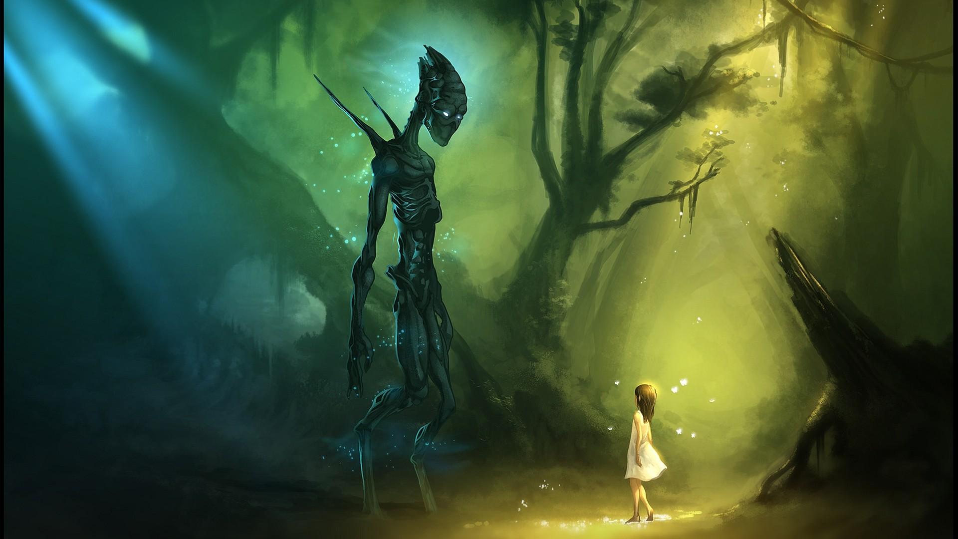 ☺iphone ios 7 wallpaper tumblr for ipad. Alien GirlScience Fiction …