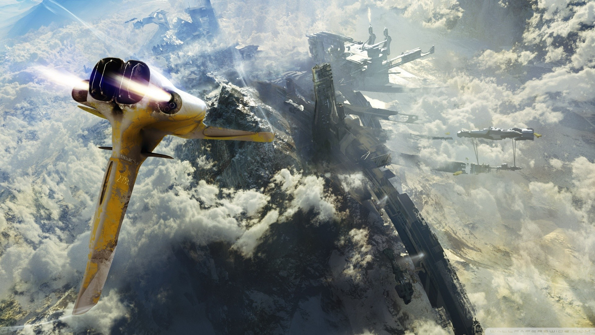 HD Science Fiction Wallpapers
