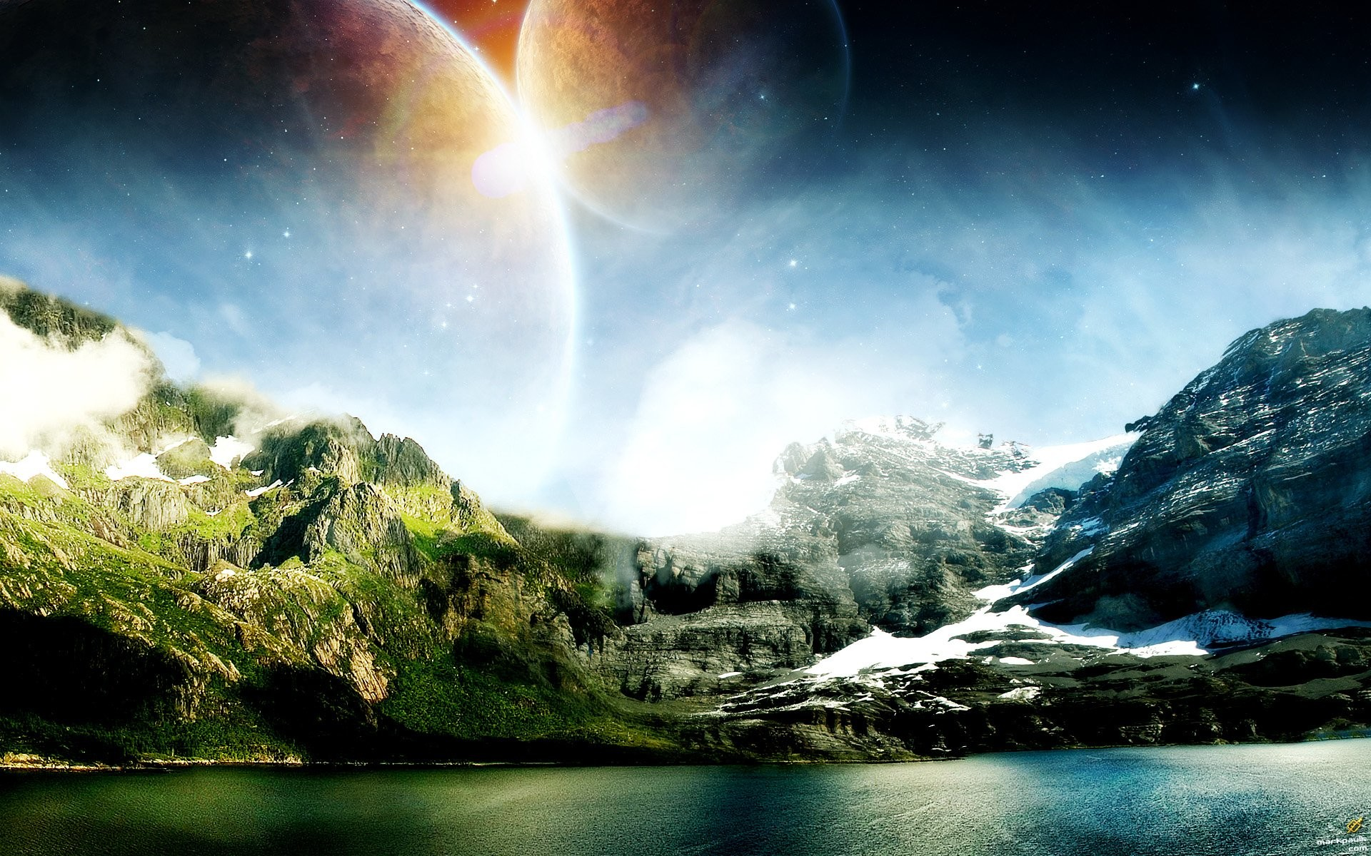 HD Wallpaper | Background ID:86624. Sci Fi Landscape