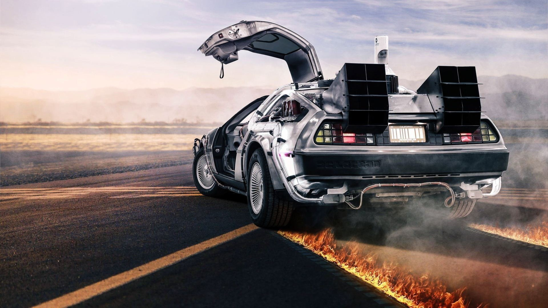 car, Back To The Future, DeLorean Wallpapers HD / Desktop and Mobile  Backgrounds